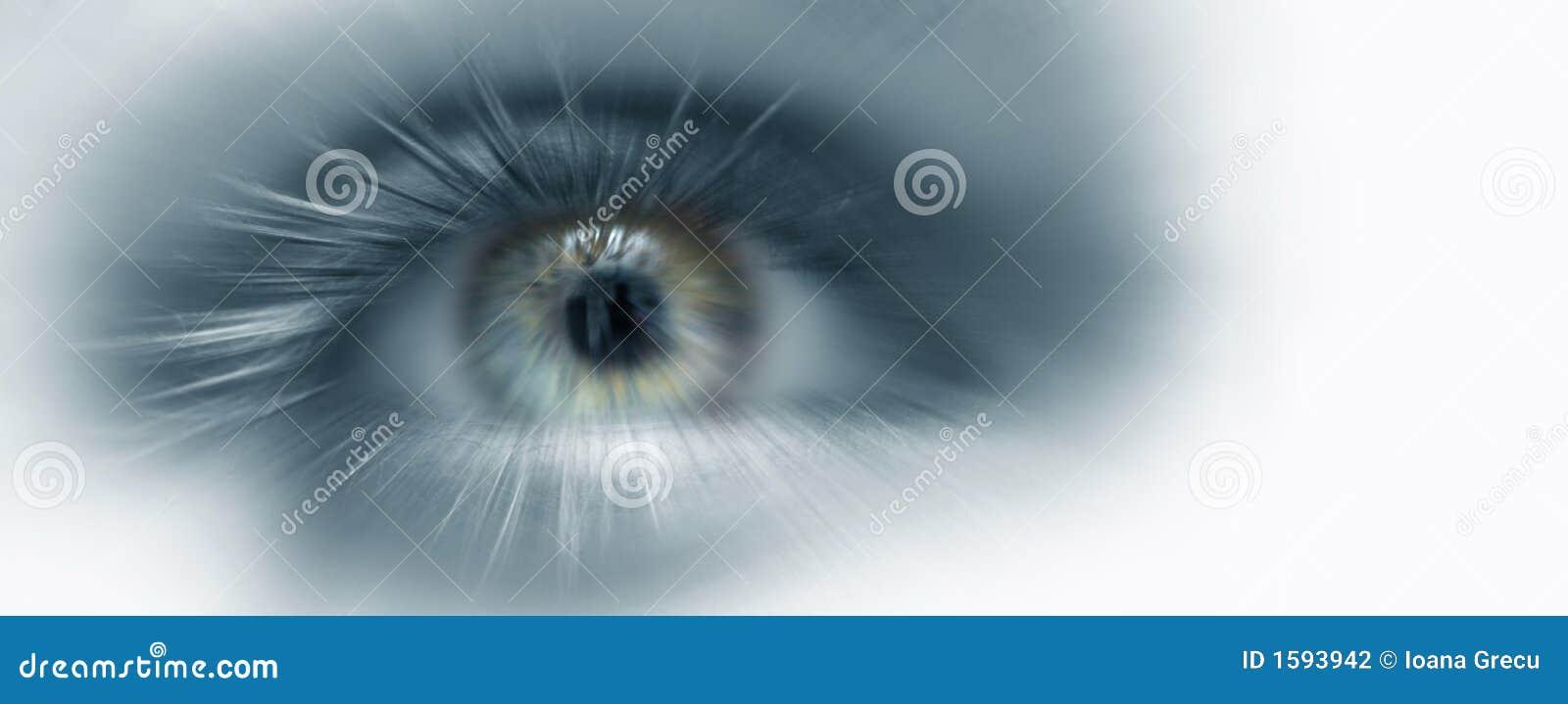 Visão do futuro do olho