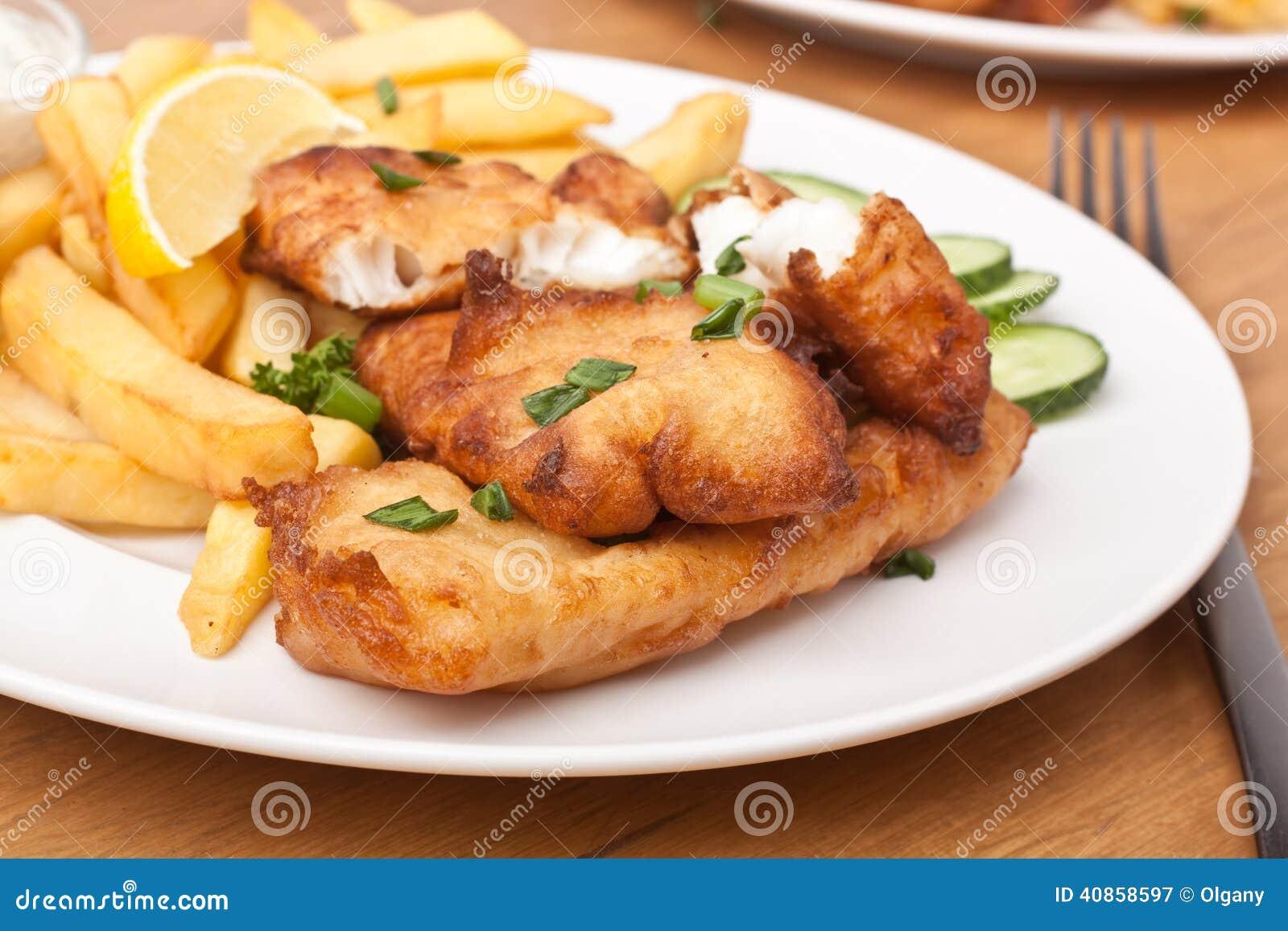 Vis met patat