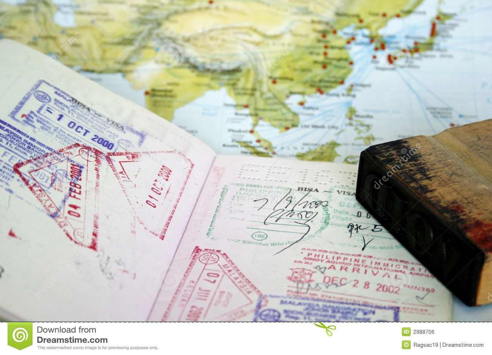Visa de passeport