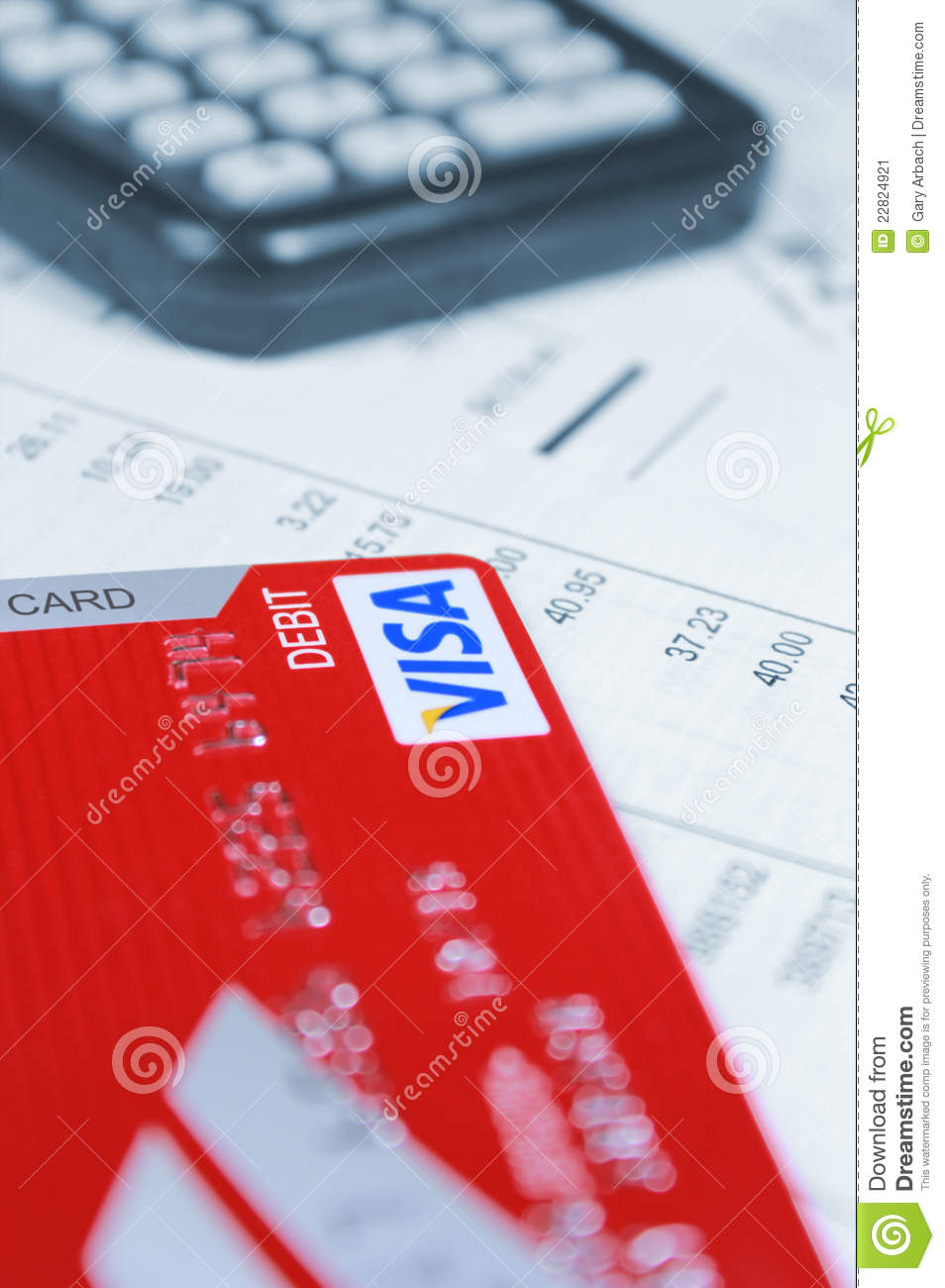 visa debit card editorial photo  image of focus  visa
