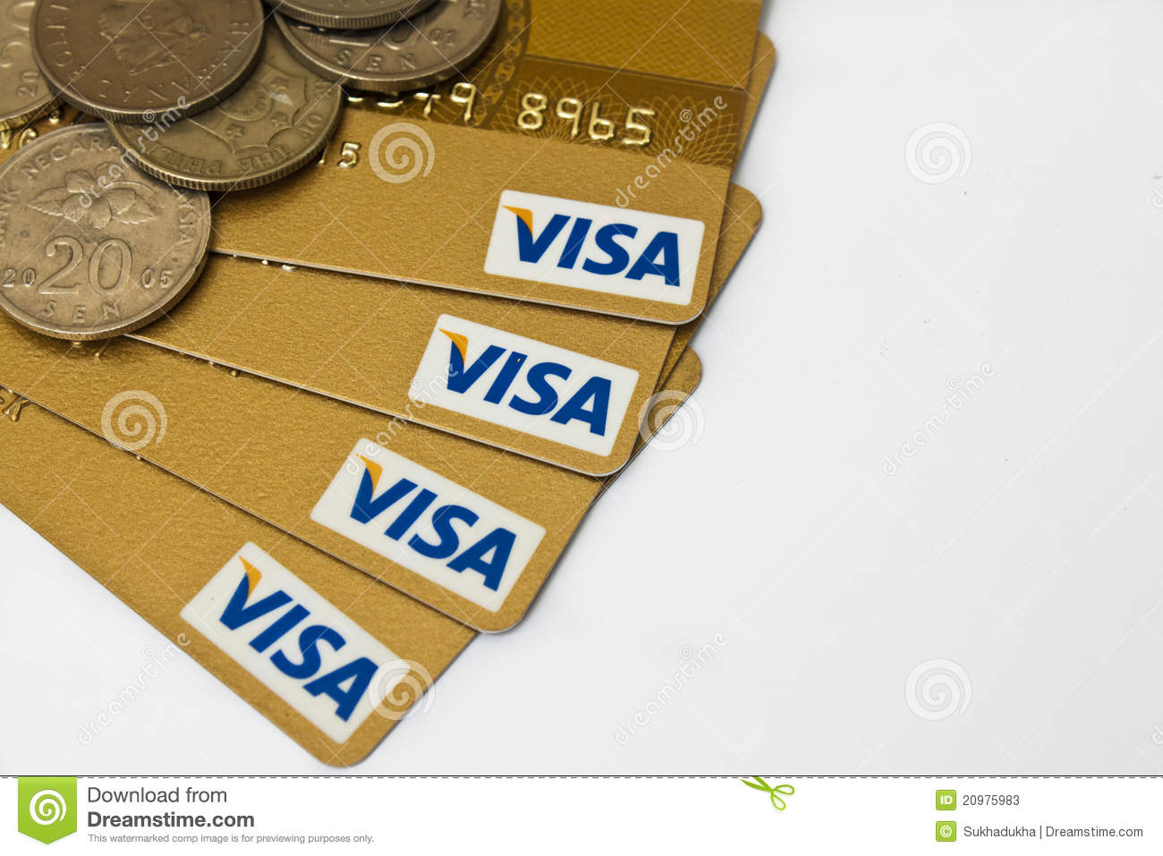 visa and money - Visa Money Card