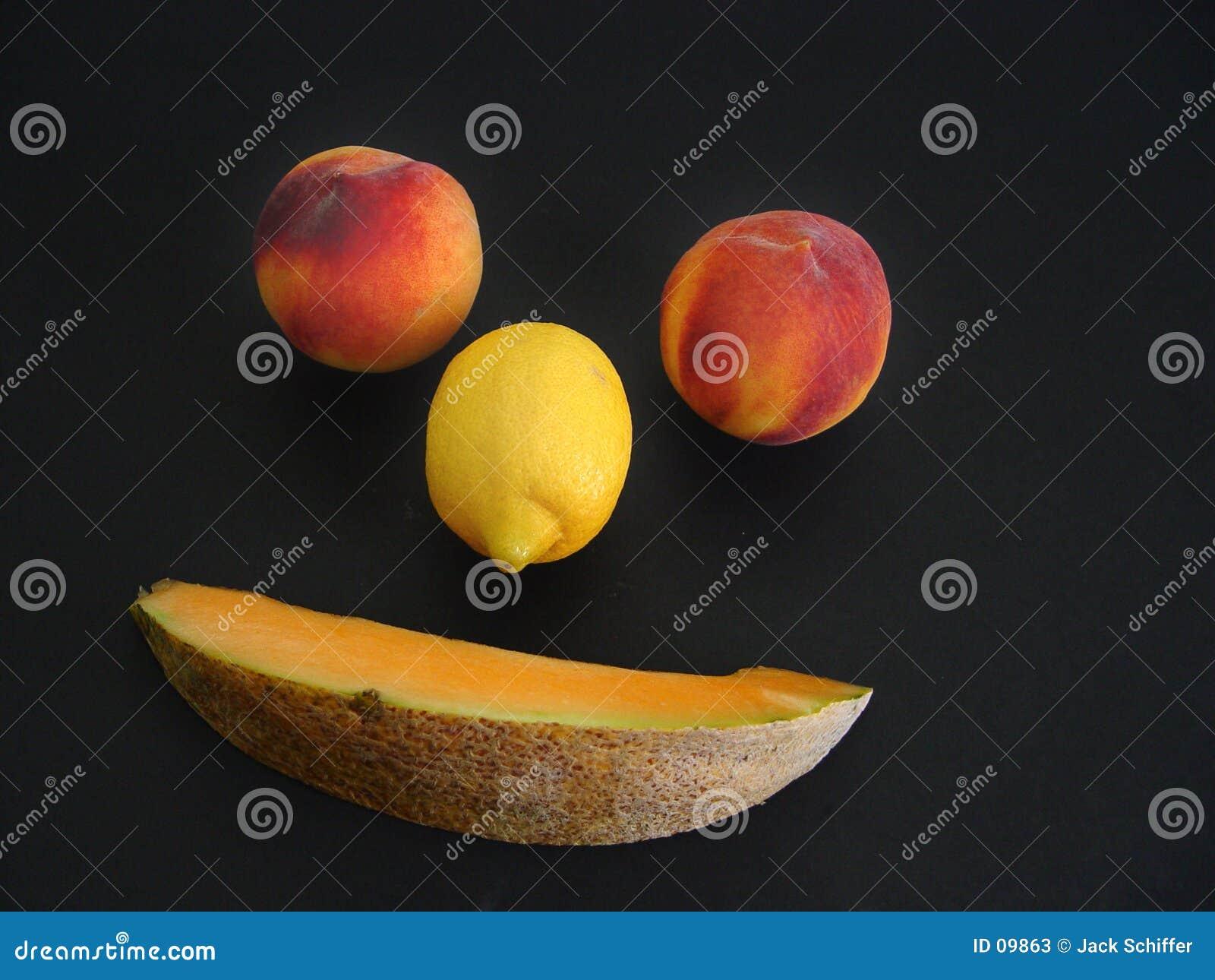 Visage de fruit