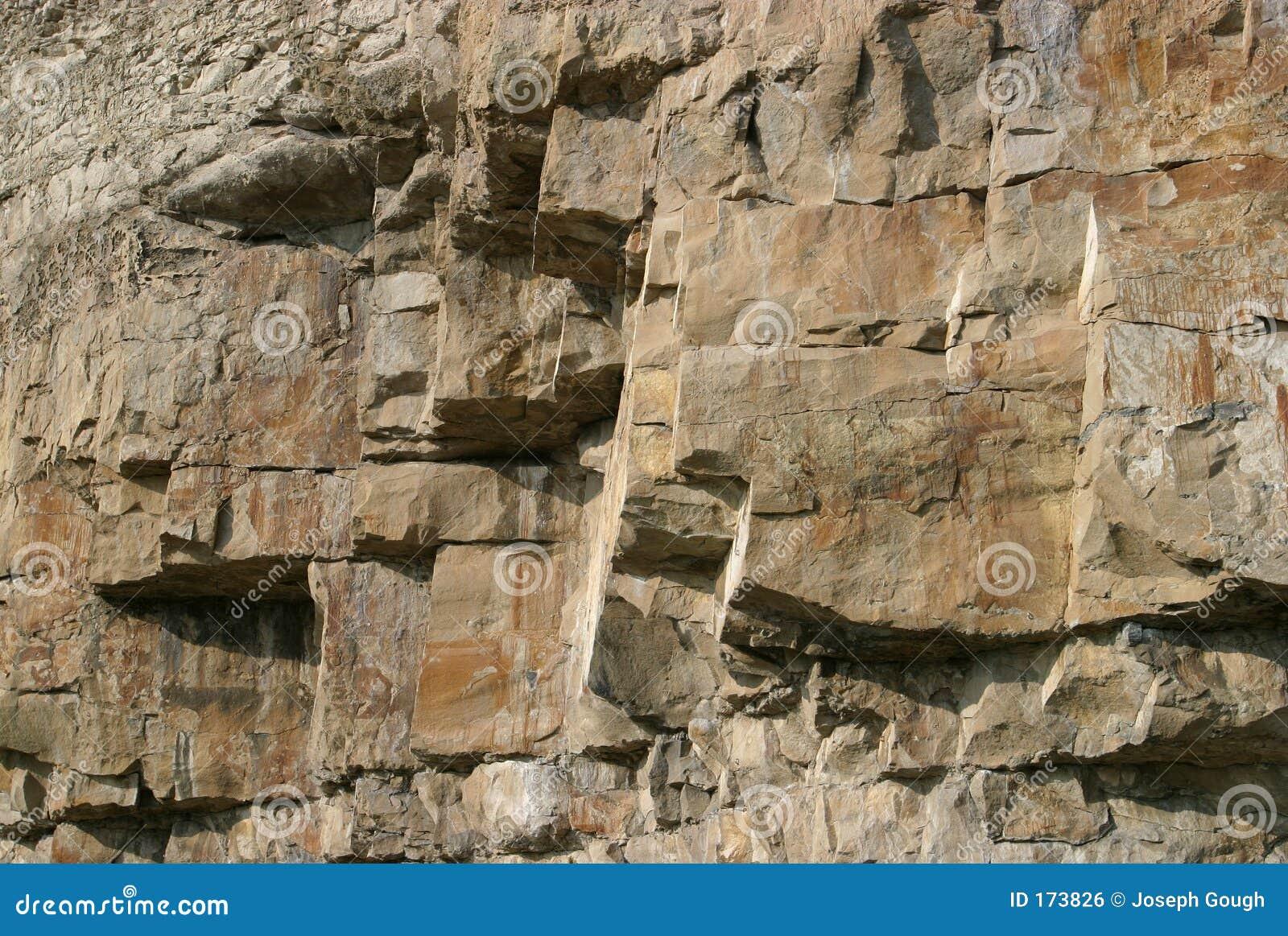 Visage de roche