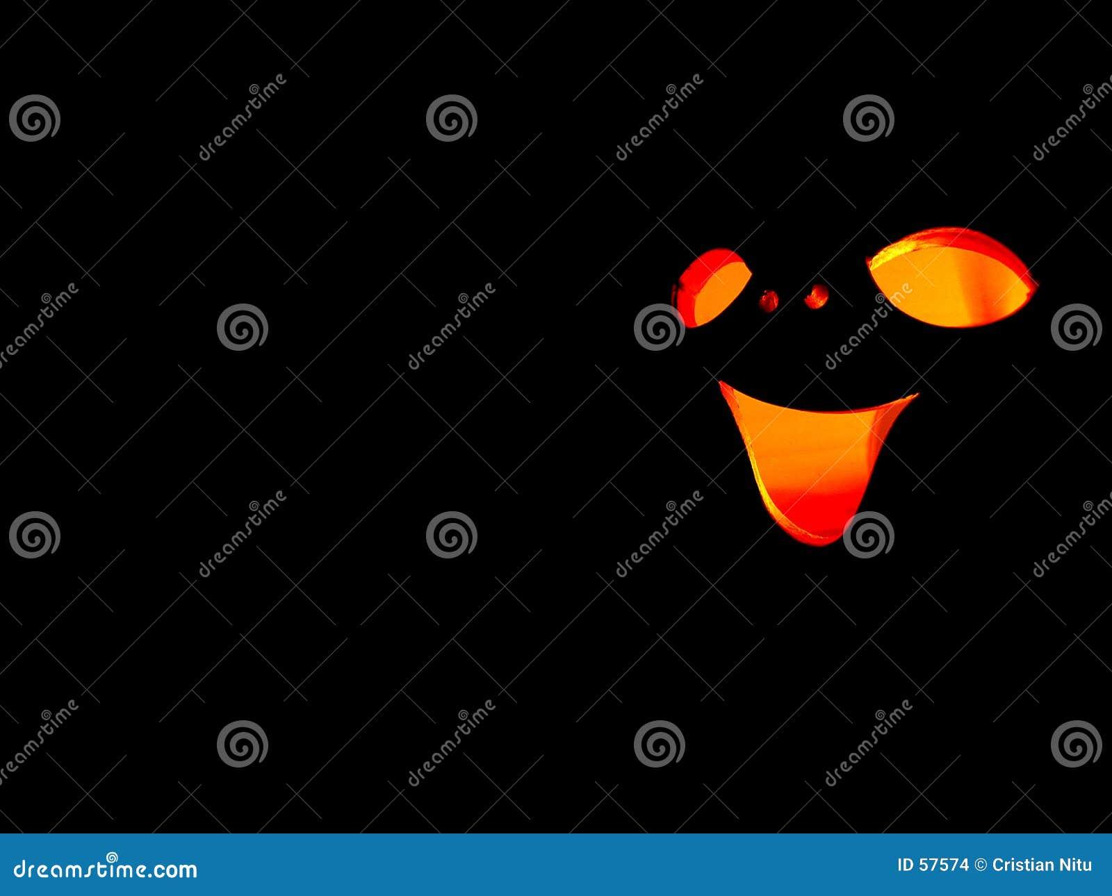 Download Visage drôle photo stock. Image du potiron, tête, fond, amusement - 57574