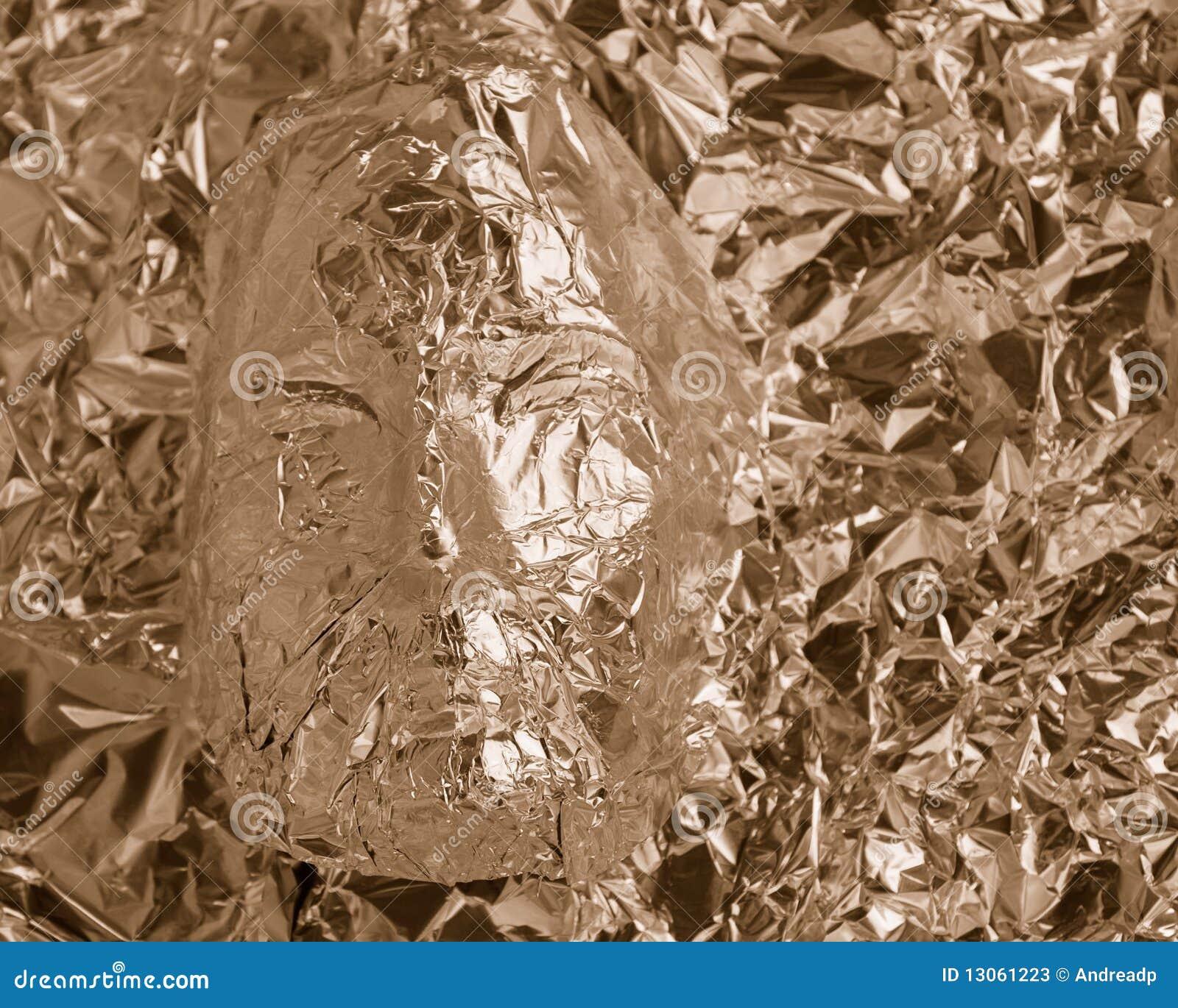 Visage en aluminium
