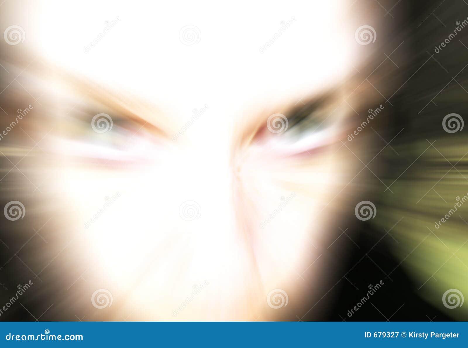 Visage femelle abstrait