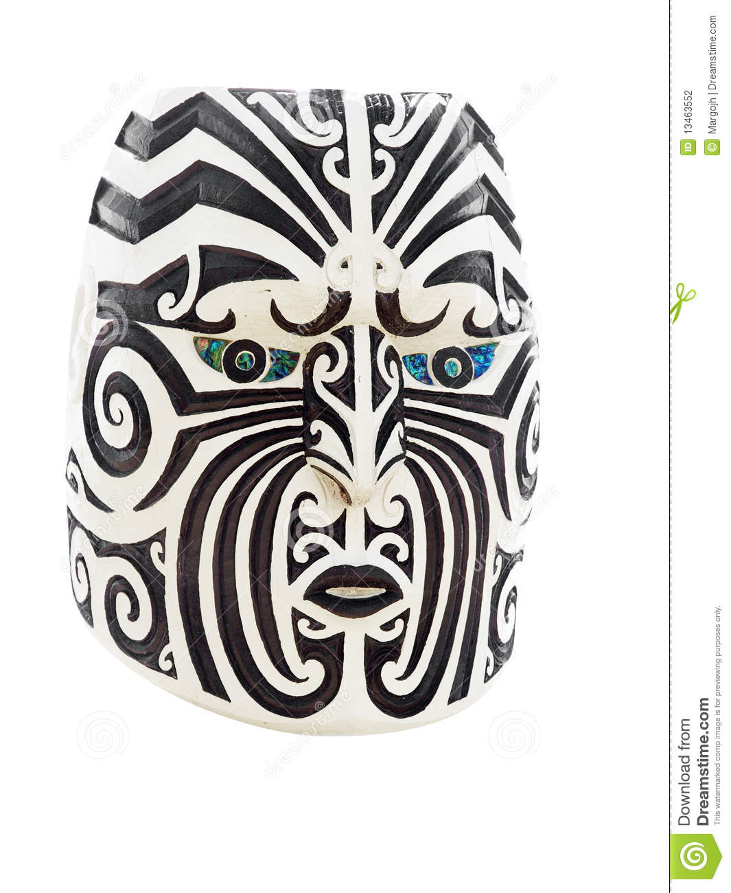 visage maori en bois photo stock image du masque maori. Black Bedroom Furniture Sets. Home Design Ideas