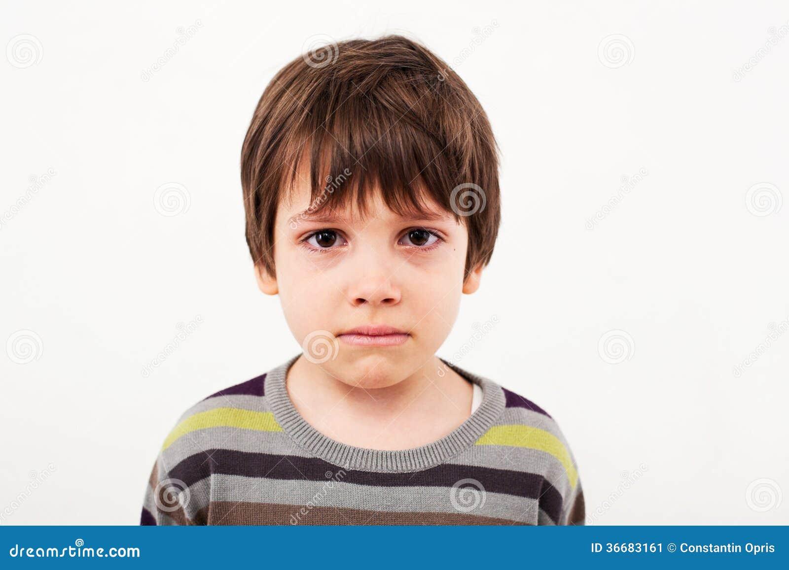 Top Visage Triste D'enfant Image stock - Image: 36683161 JT01