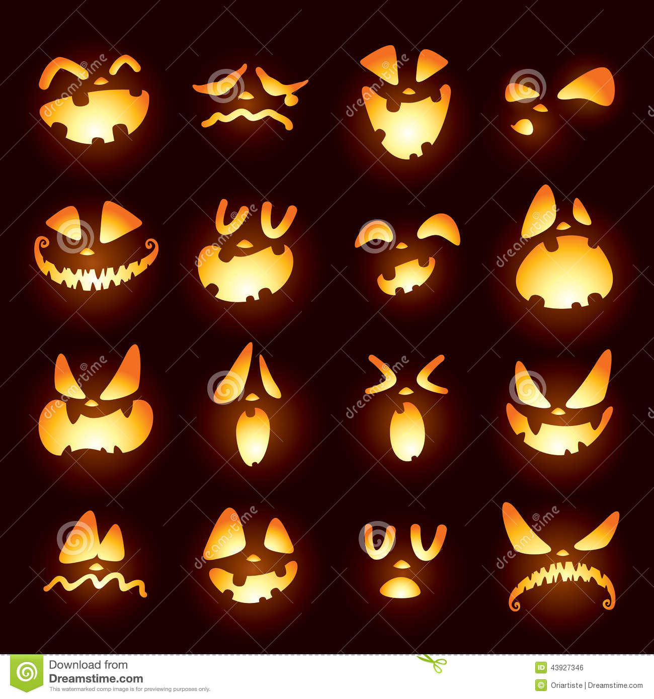 jack o lanter faces