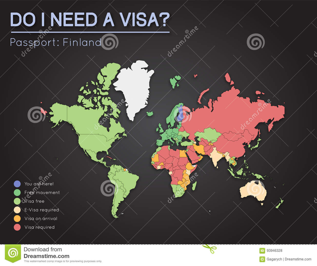 Visas information for republic of finland stock vector download comp gumiabroncs Images
