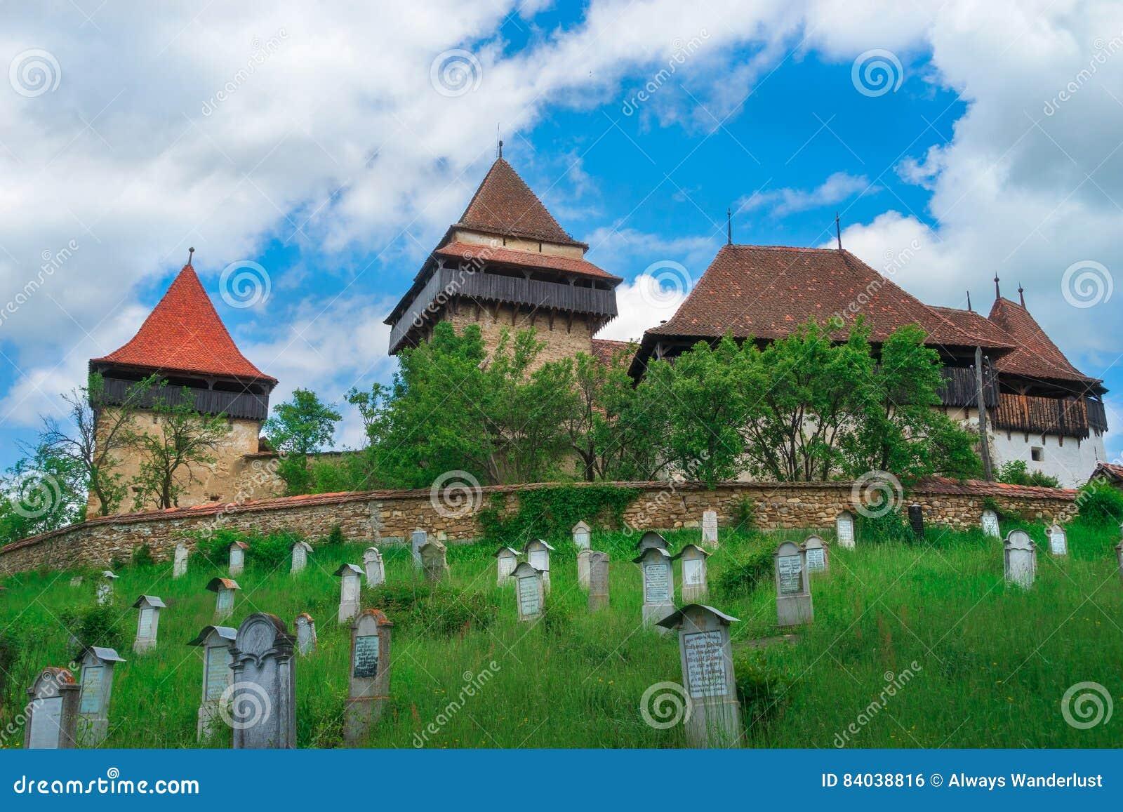 Visciri-Wehrkirche in Rumänien