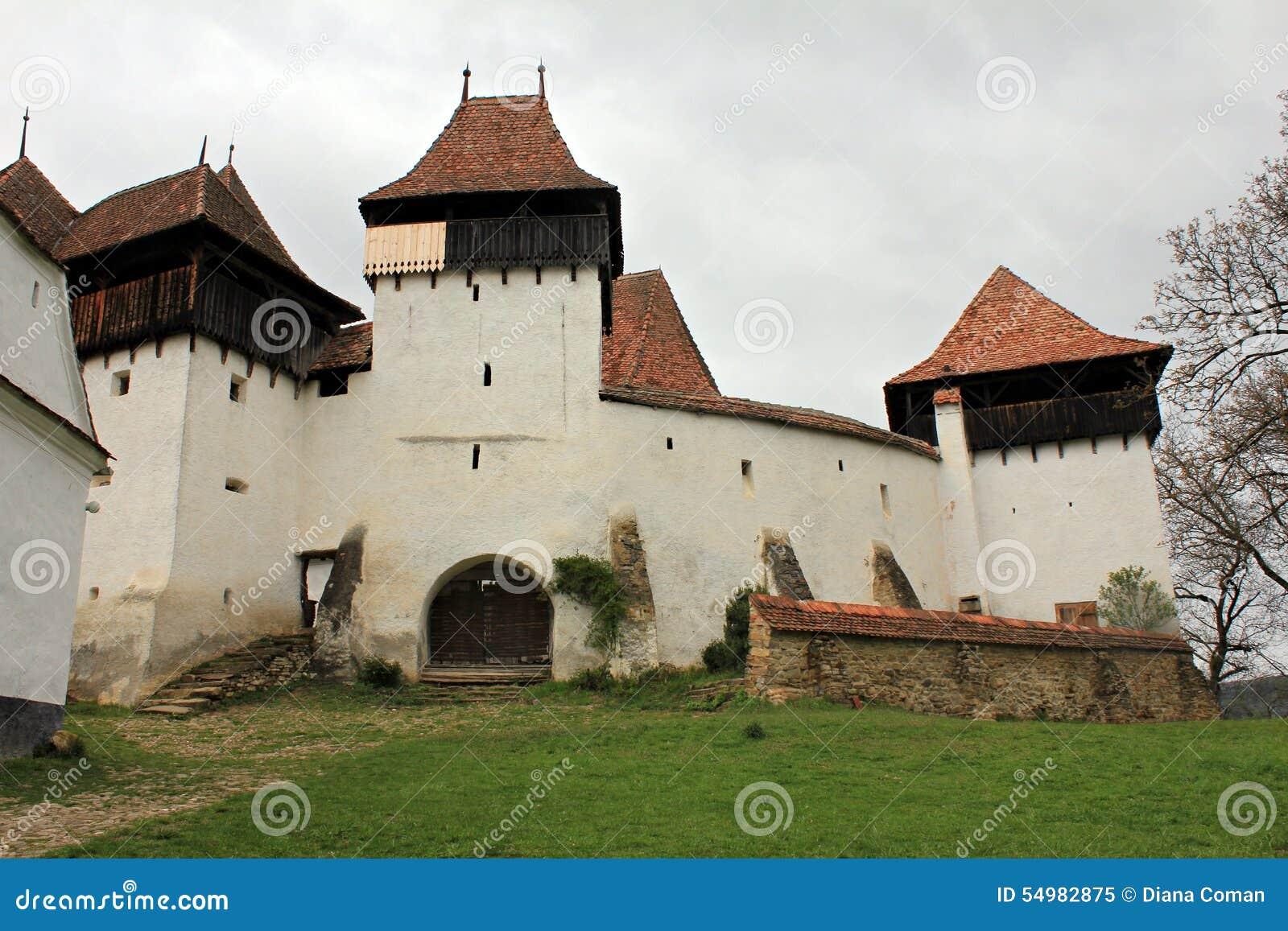 Viscri fortificou a igreja