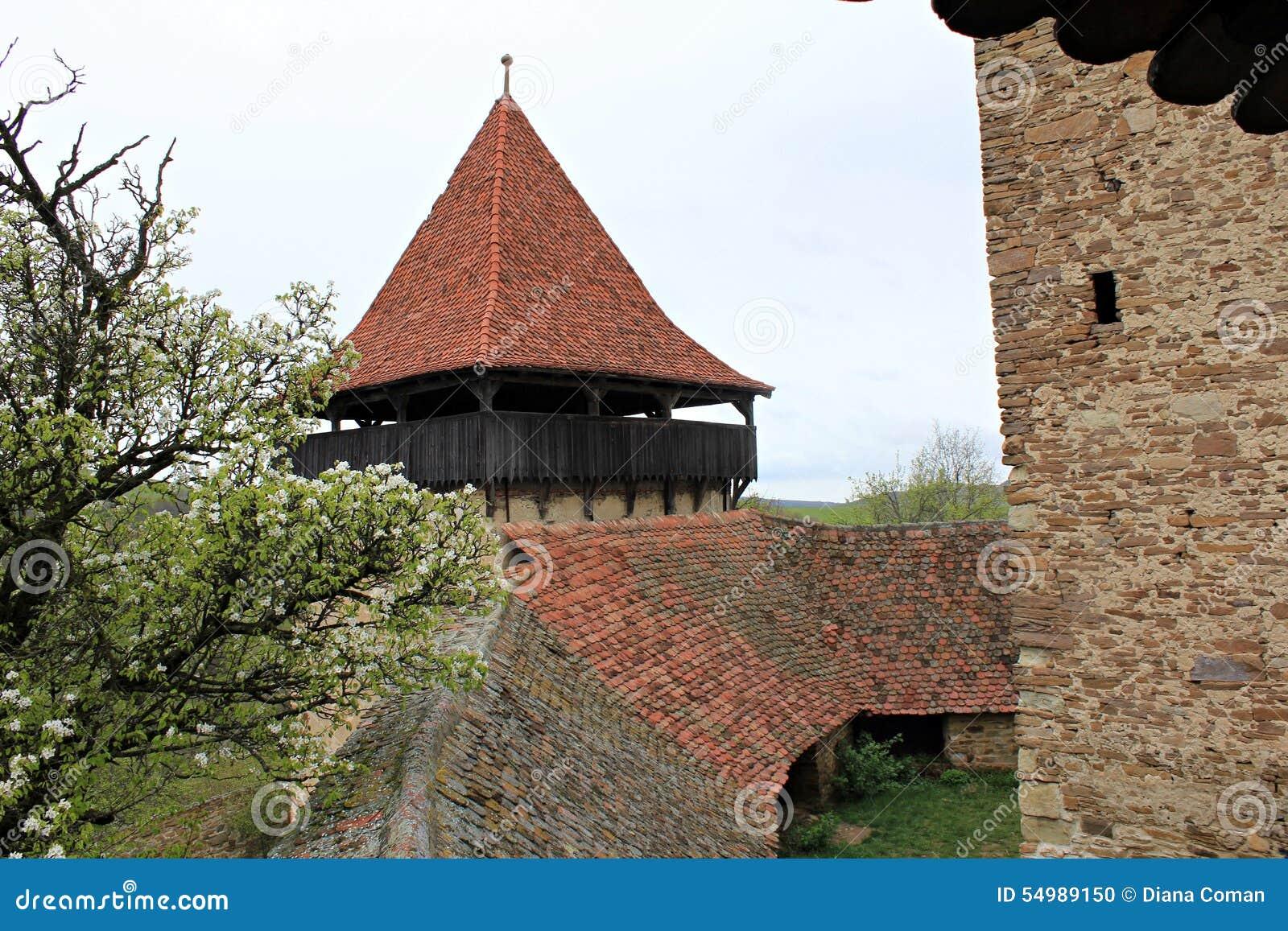 Viscri fortificou a igreja - paredes