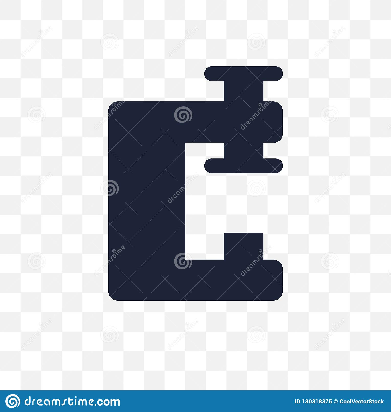 Vise transparent icon. Vise symbol design from Construction coll