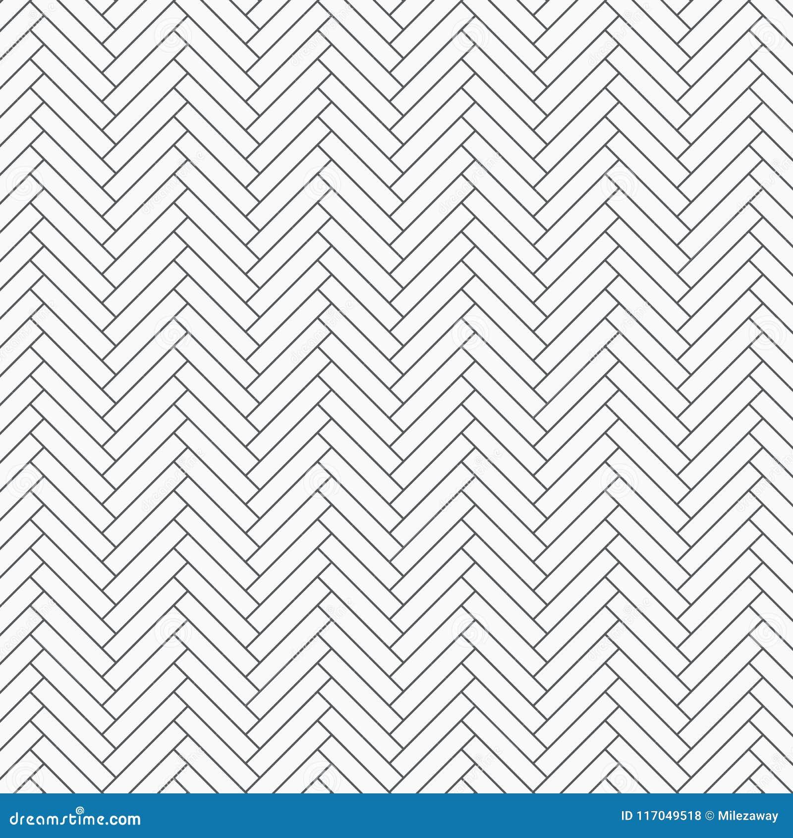 Visgraatpatroon Tessellation van rechthoekenplakken, die met het witte hellingsblokken betegelen herhalen De bakstenen van de vlo