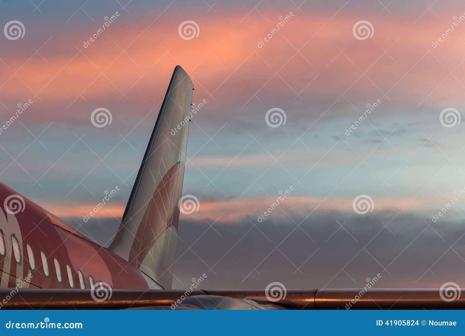 Visión aérea mientras que en el avión