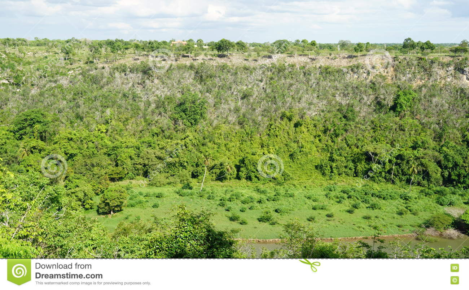 Visión desde Altos de Chavon en el La Romana