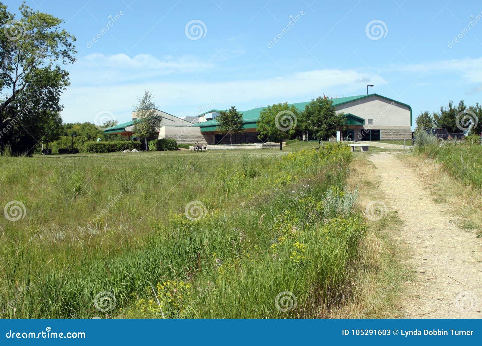 Visión desde el rastro, Brandon Riverbank Discovery Center