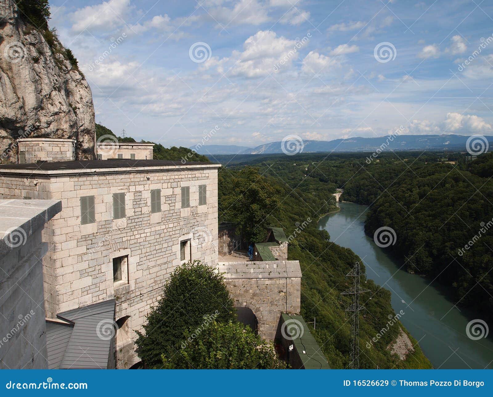 Visión desde la fortaleza francesa