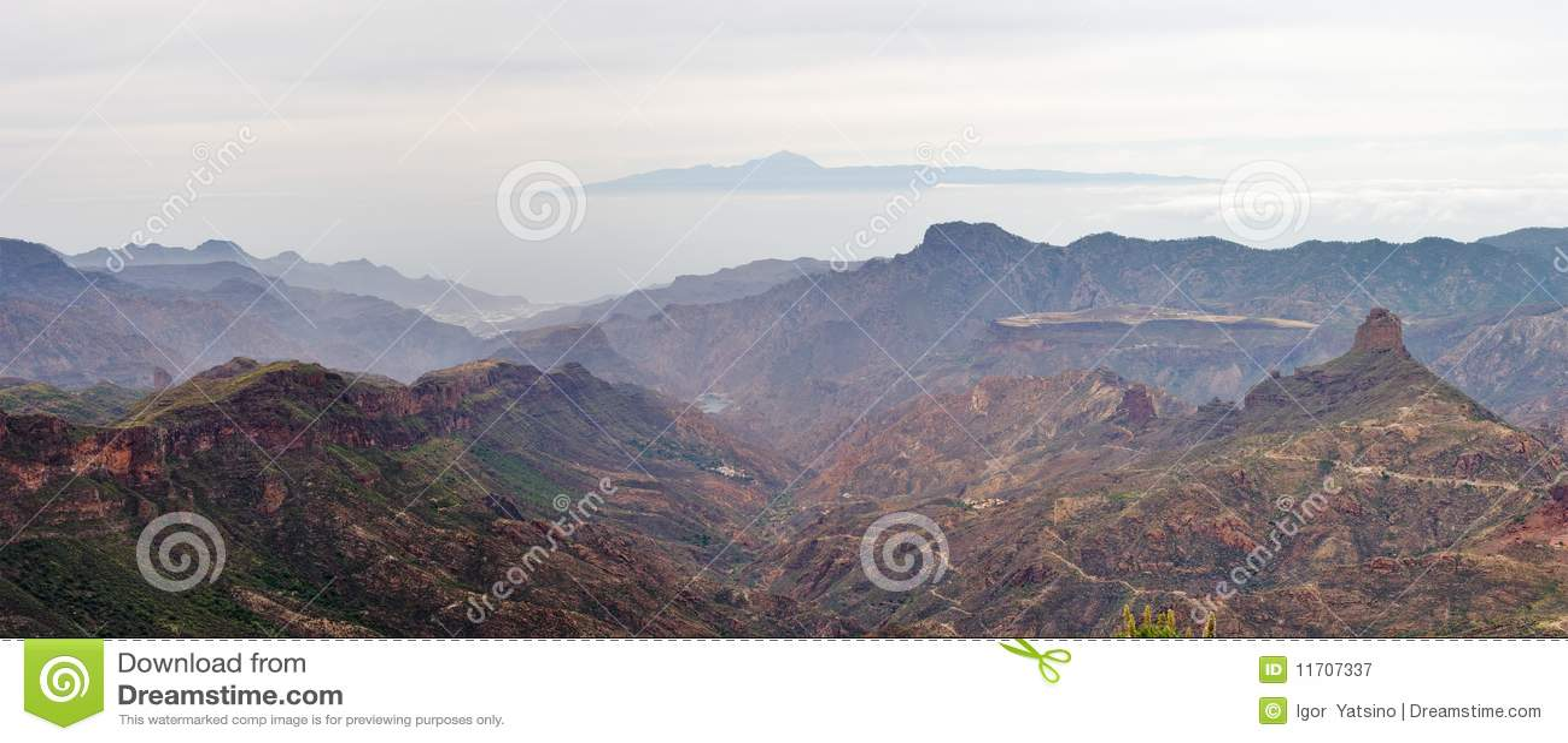 Visión desde Roque Nublo