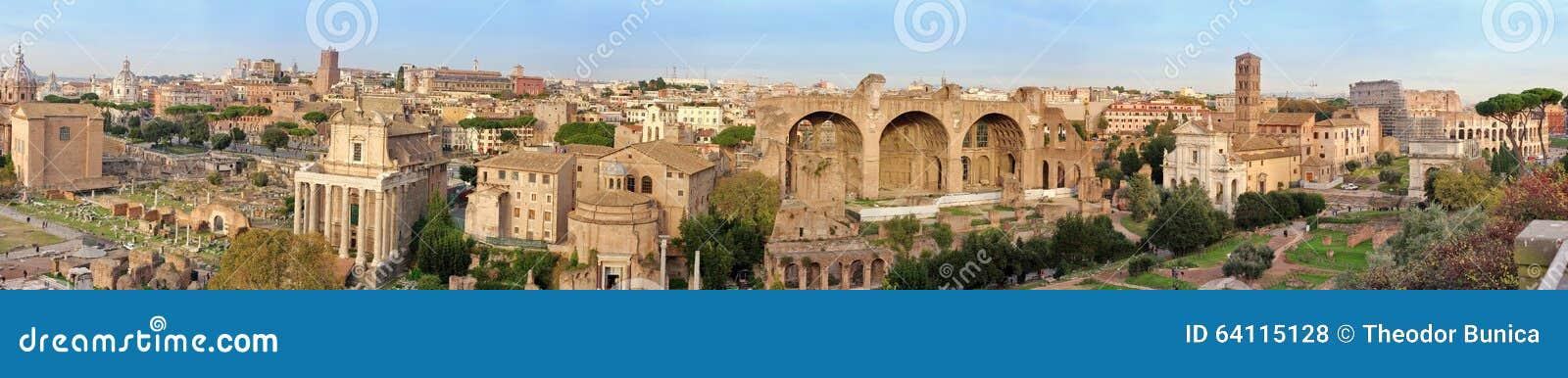 Visión panorámica sobre Roma