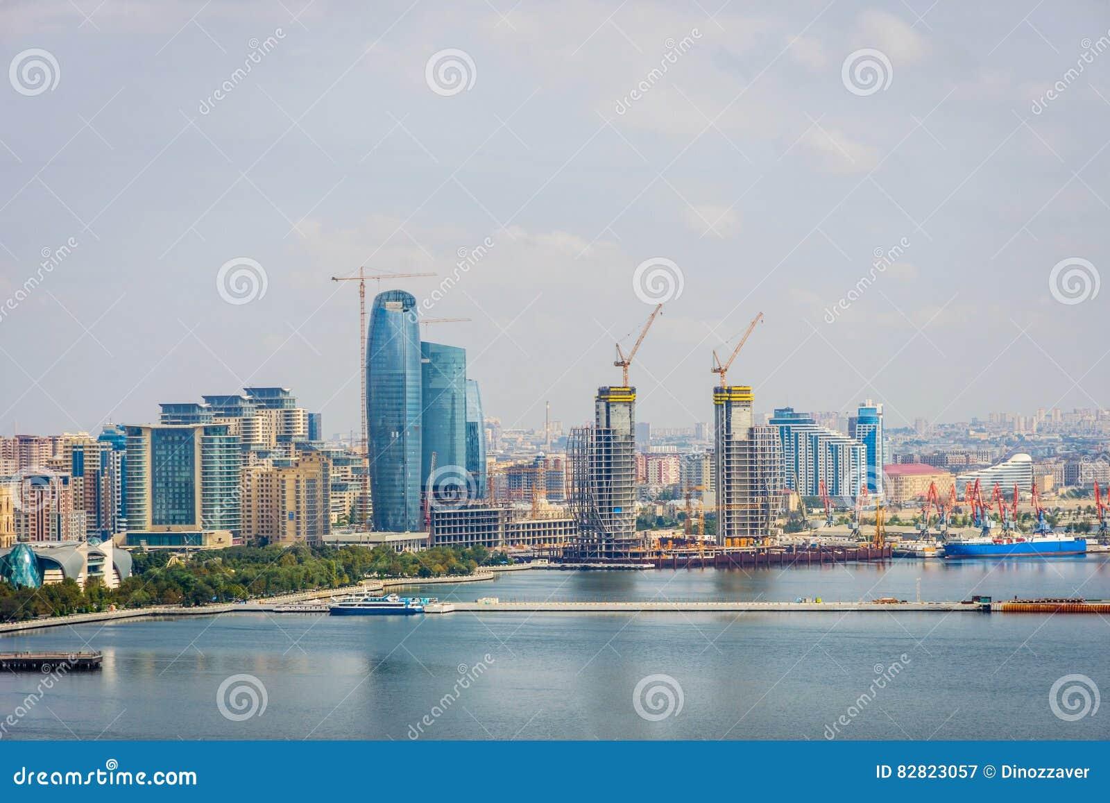 Visión sobre Baku, Azerbaijan