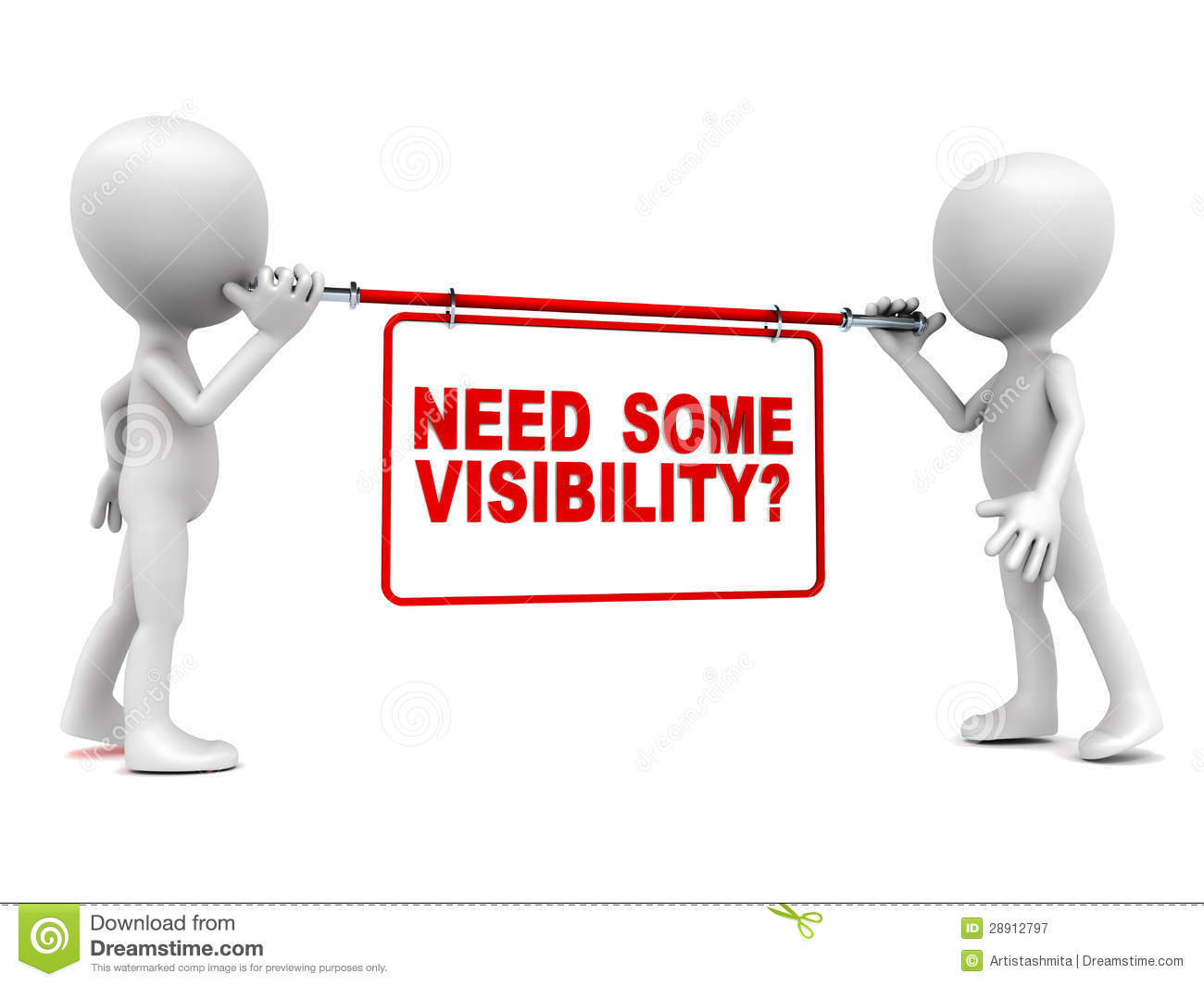 Visibility Advertisement Royalty Free Stock Photography - Image ...