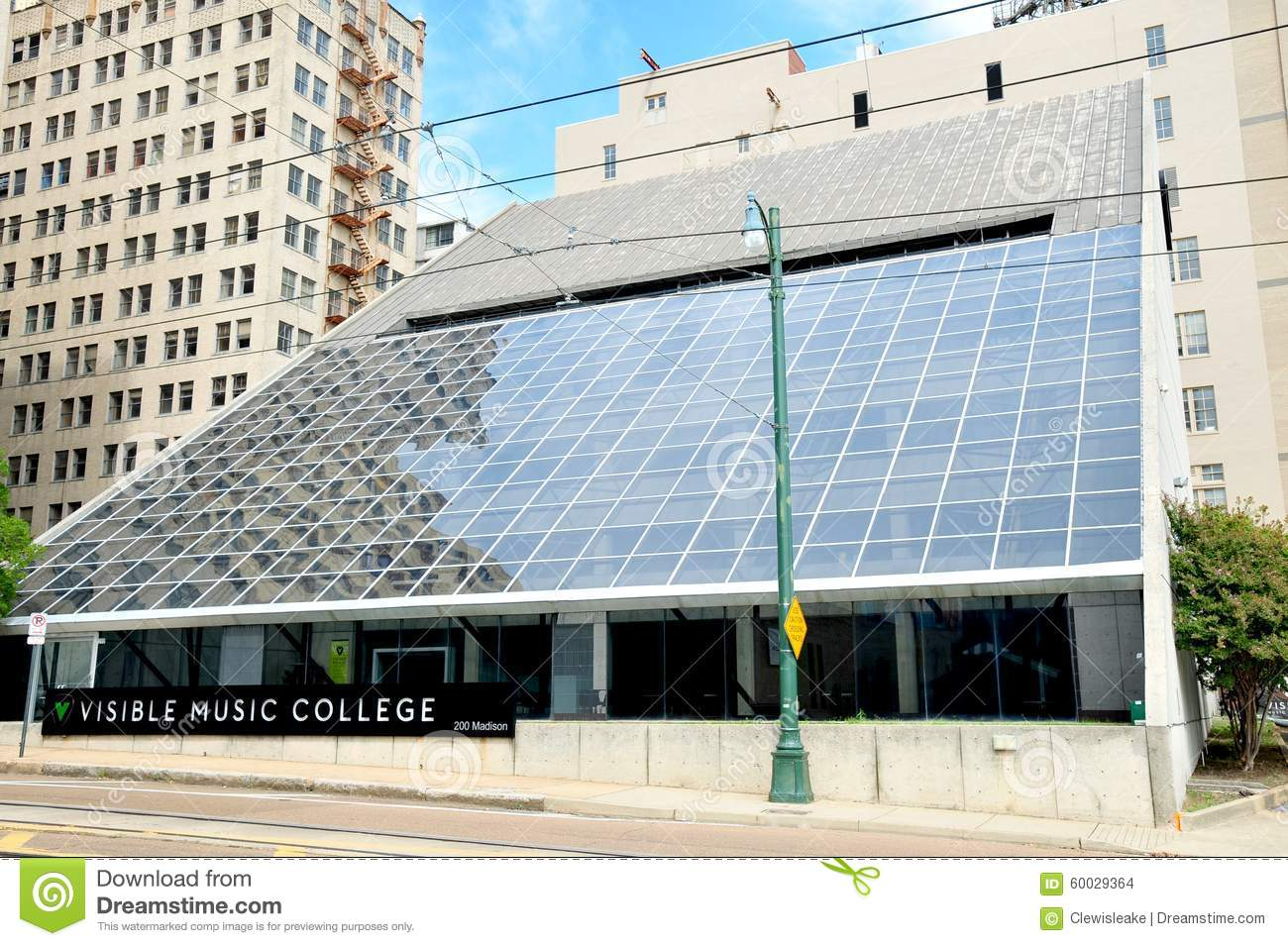 Visible Music College, Memphis Tennessee Editorial Stock Image ...
