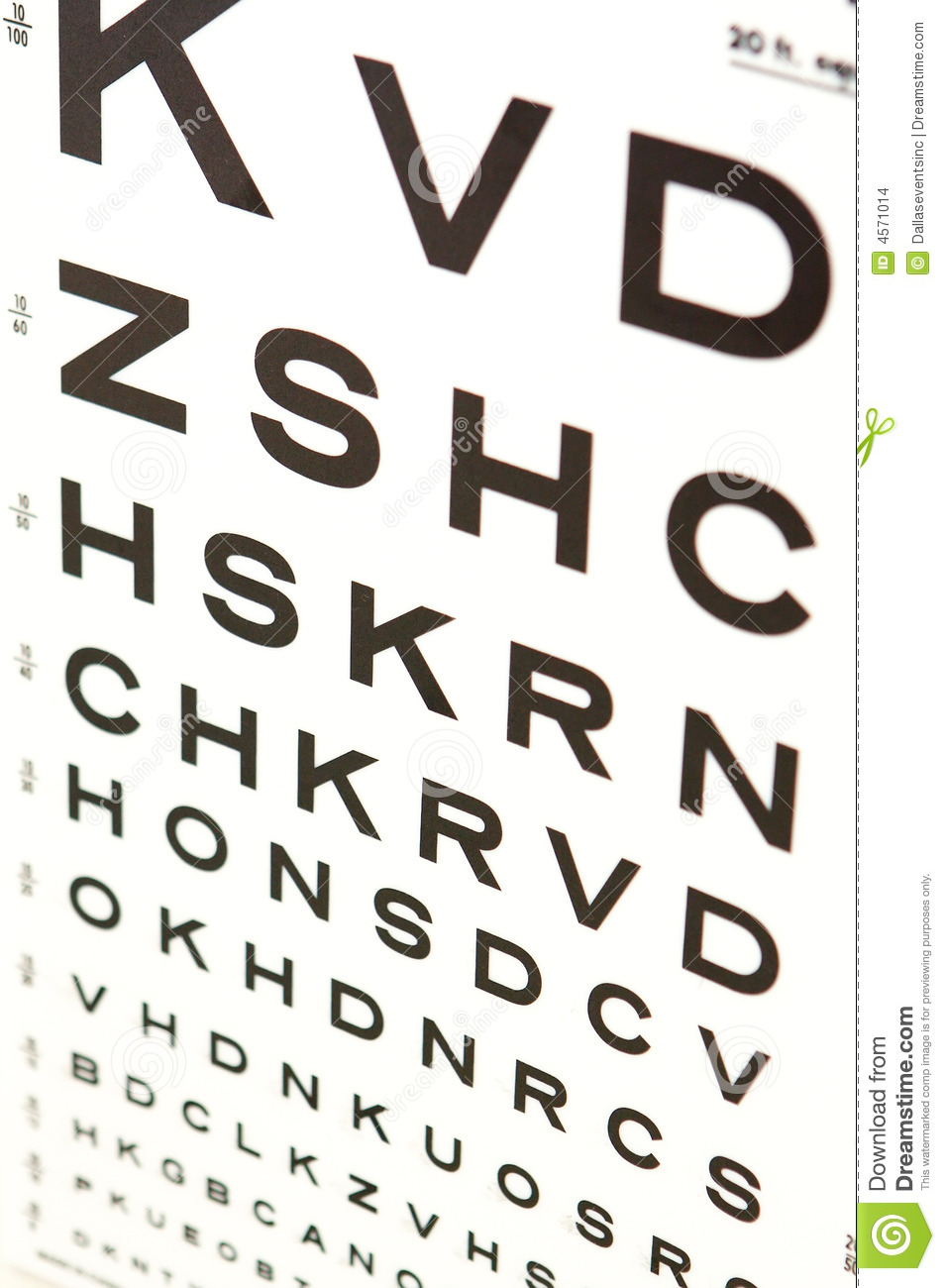 Vision eye test chart stock photo image of care brain 4571014 vision eye test chart care brain geenschuldenfo Image collections