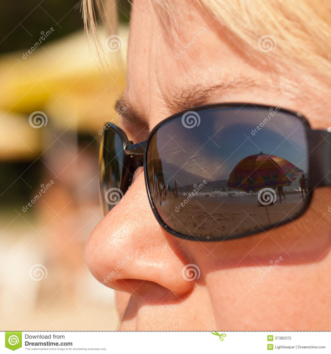 Vision Of Summer Vacation Stock Photo. Image Of Woman