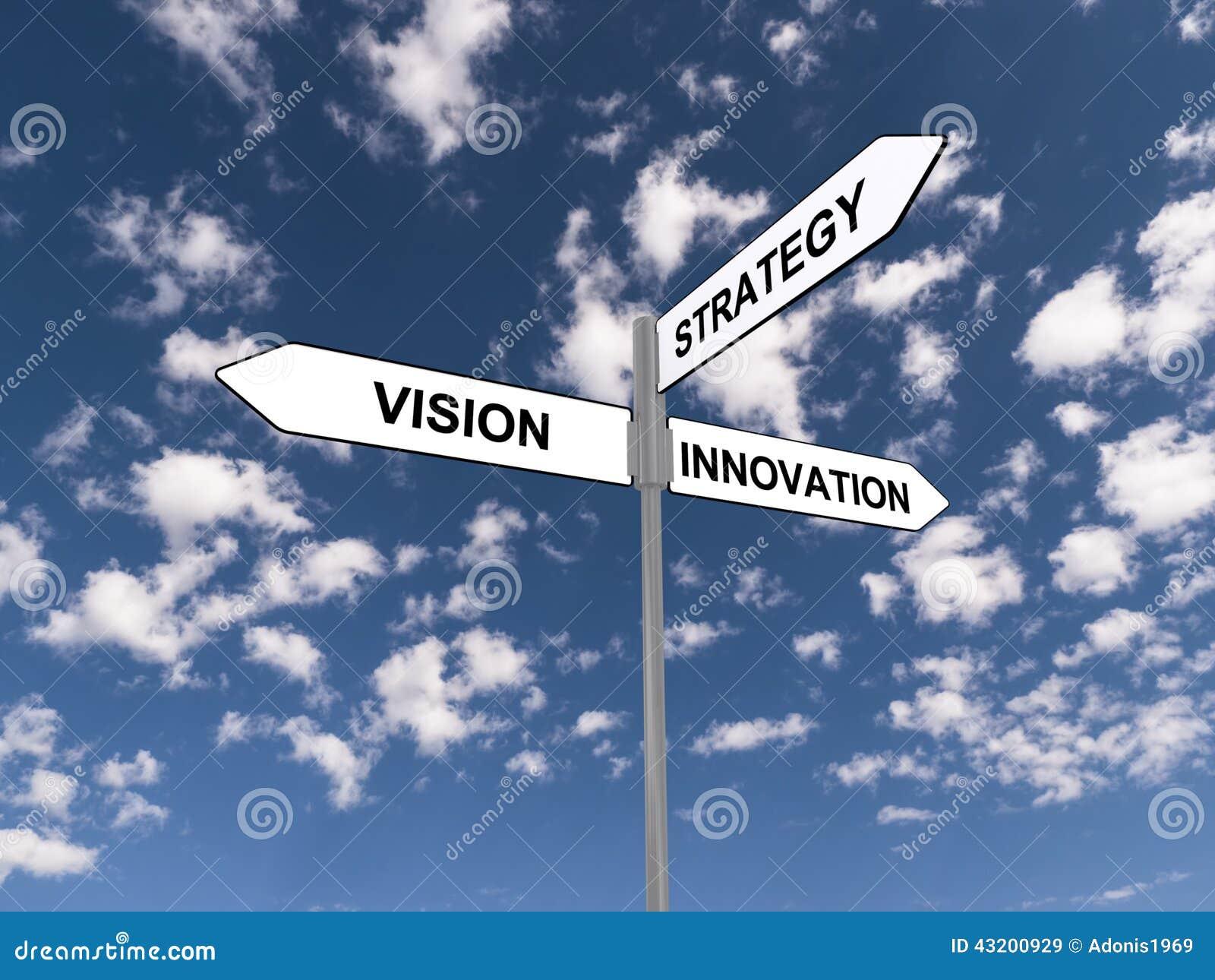Download Visioninnovationstrategi stock illustrationer. Illustration av riktning - 43200929