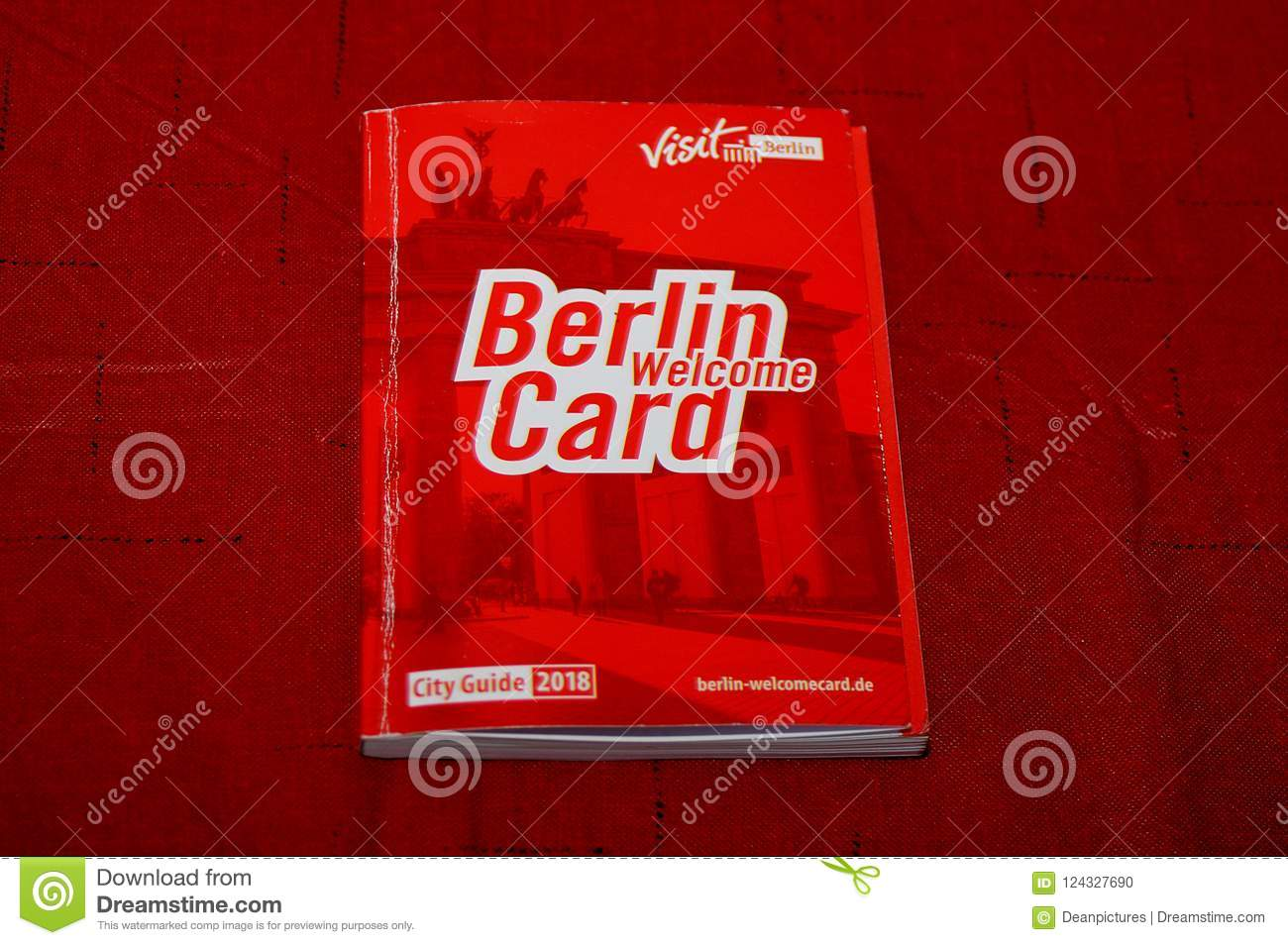 Visit Berlin Berlin Welcome Card Editorial Image Image Of