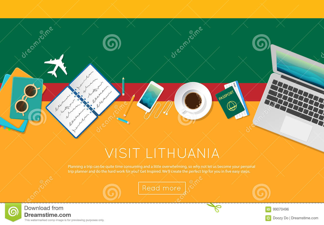 How to travel in Lithuanian numbers