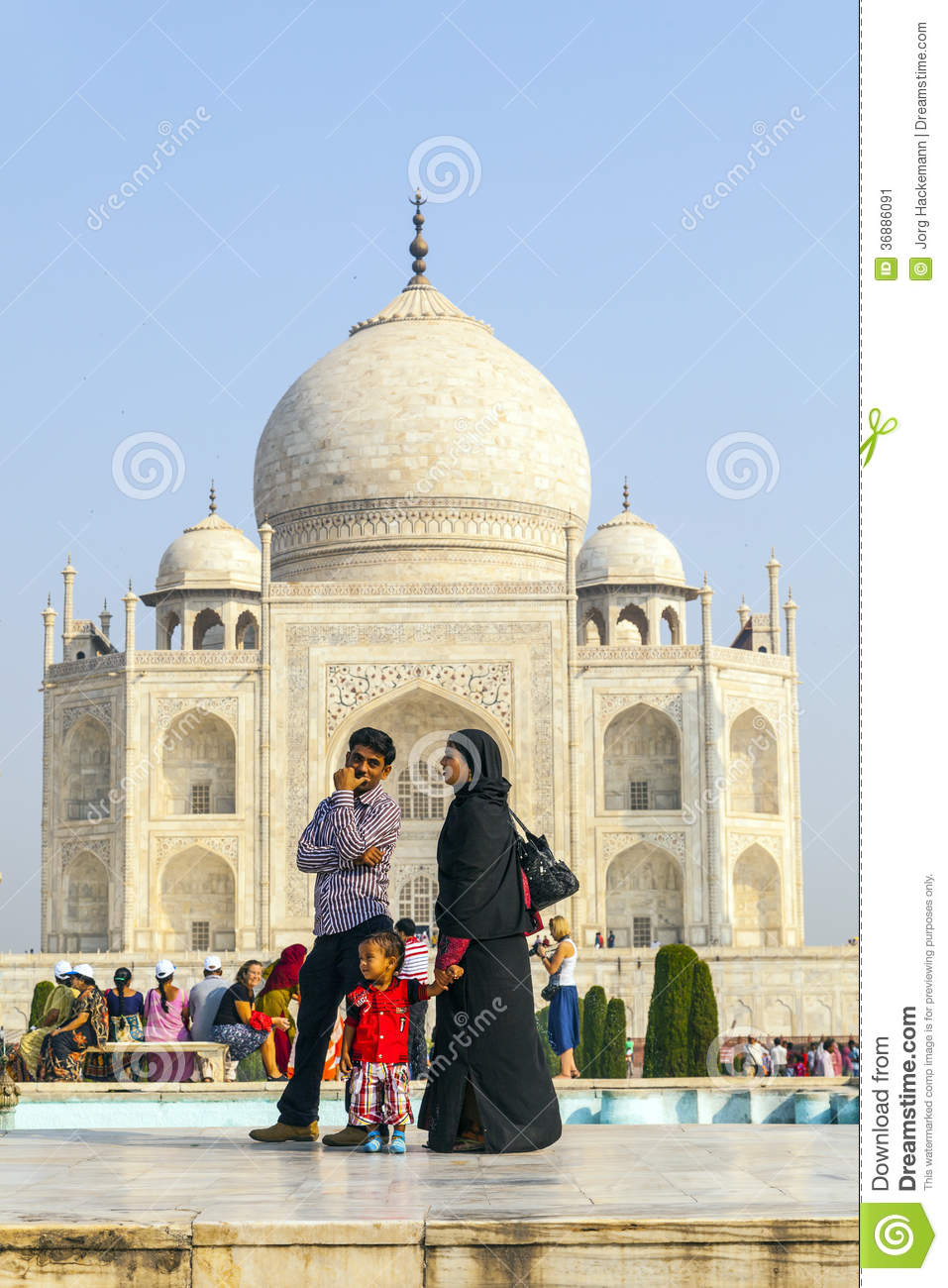 Download Visita Taj Mahal Della Gente A Agra, Fotografia Editoriale - Immagine di people, islam: 36886091