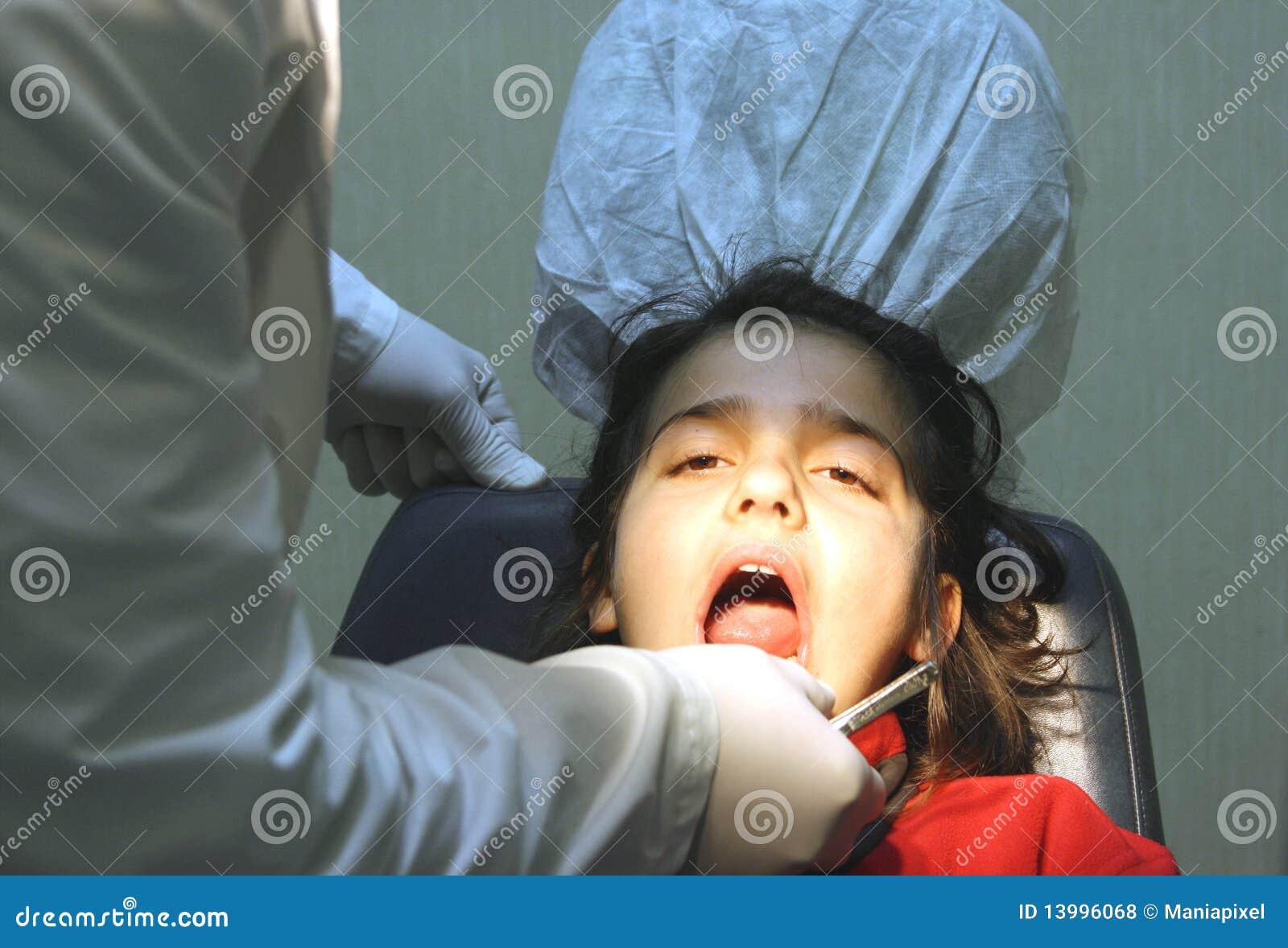 Visite au dentiste