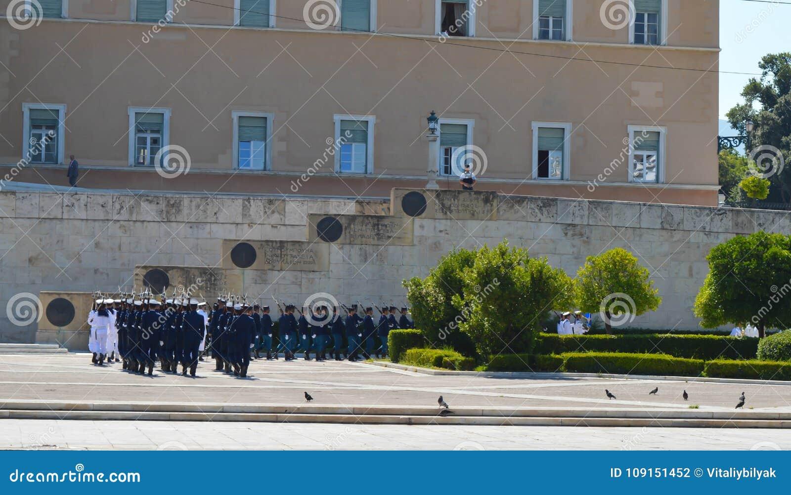 Visite officielle de président bulgare à Athènes, Grèce le 23 juin 2017 ATHÈNES, GRÈCE - 23 JUIN : Off