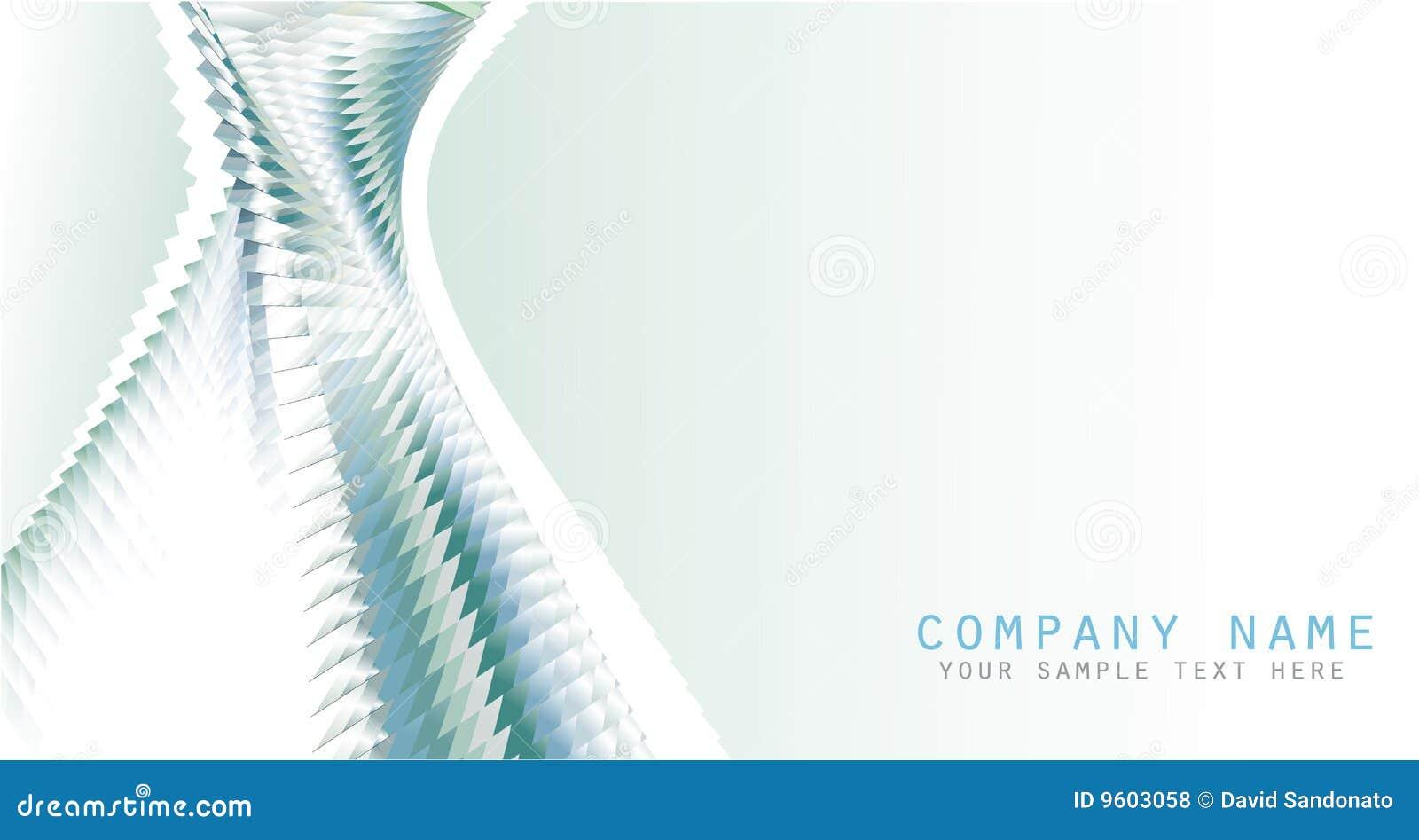 Visitenkarte Hintergrund Vektor Abbildung Illustration Von