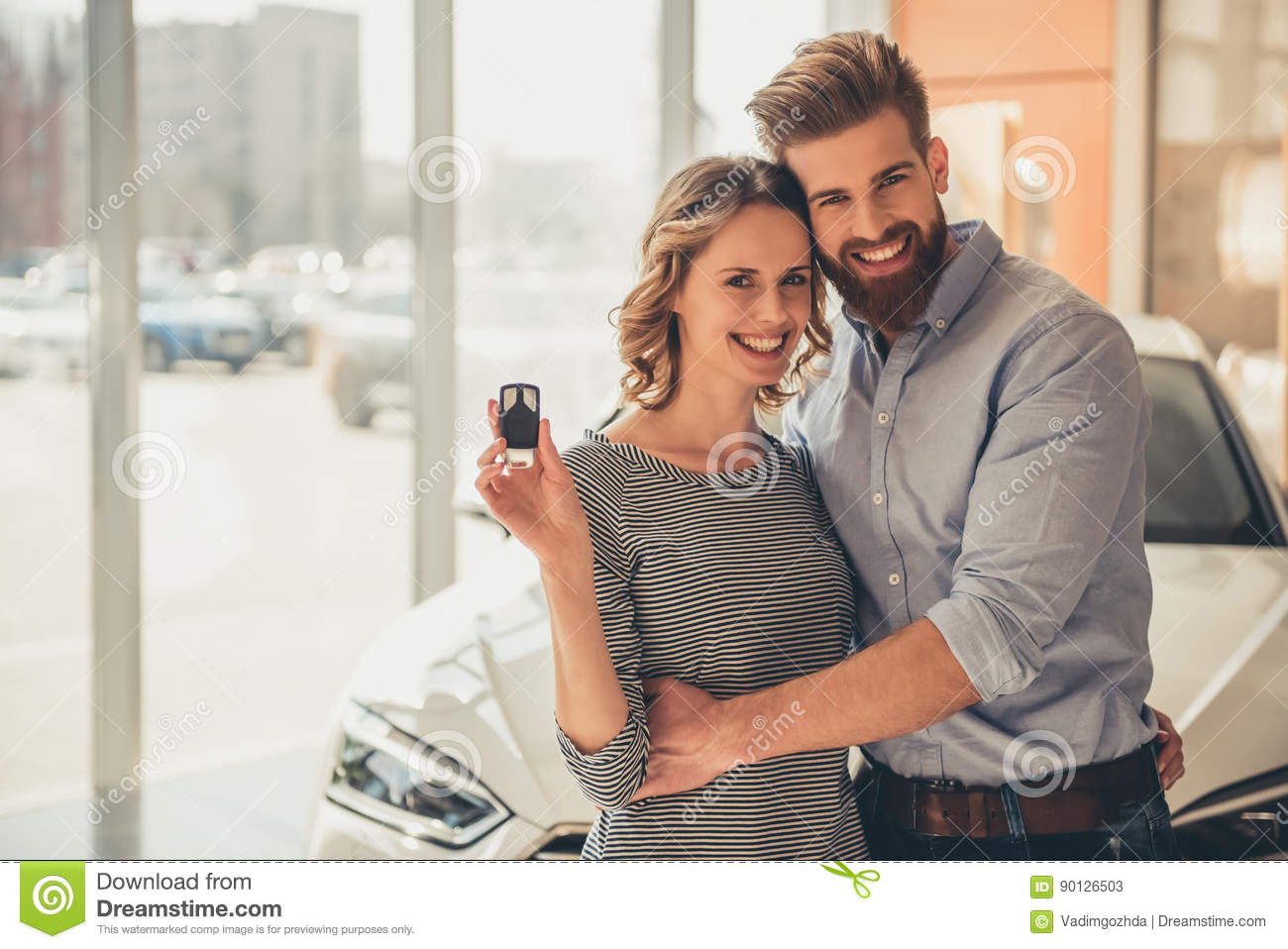 dating a car salesman