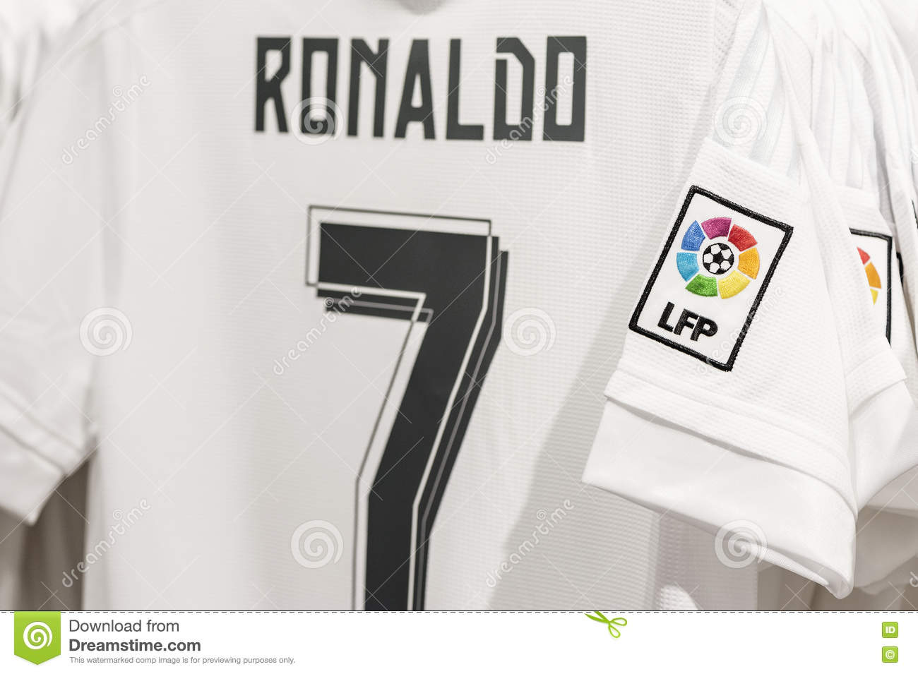 new style 9b98d 57f72 Visiting FC Real Madrid Official Store Editorial Photography ...