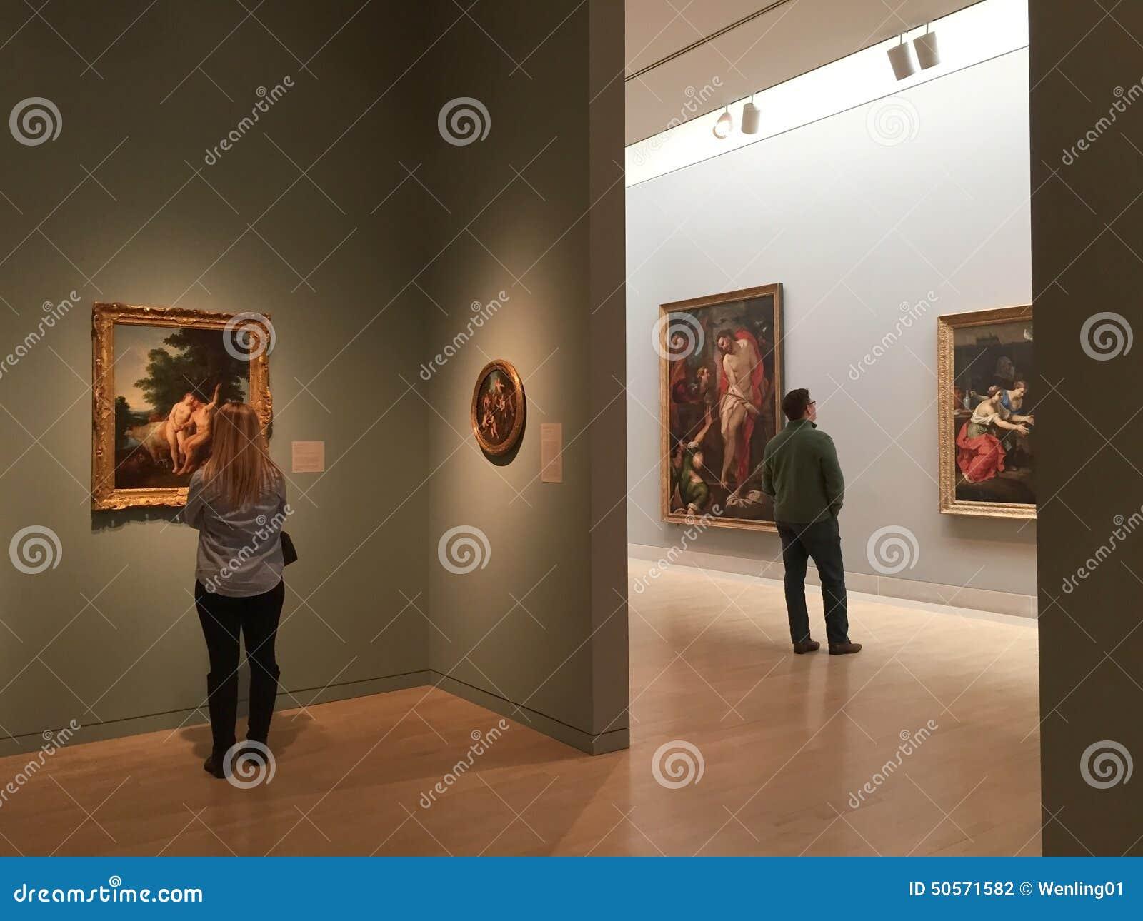 Visiting modern Museum of Arts