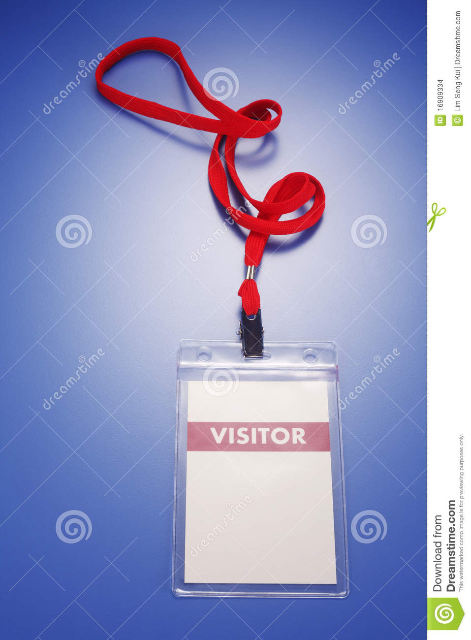 Visitor Pass Stock Images Image 16909334