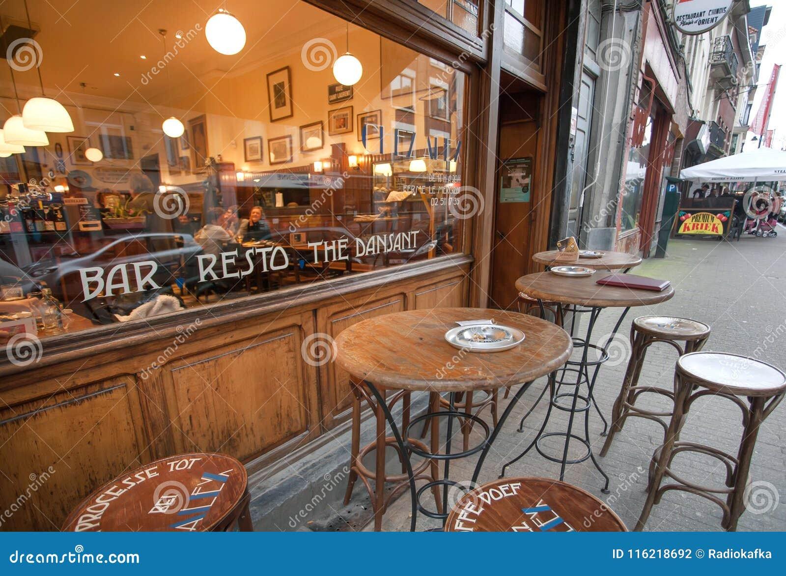 Visitors Having Dinner Inside Old-fashioned Designed