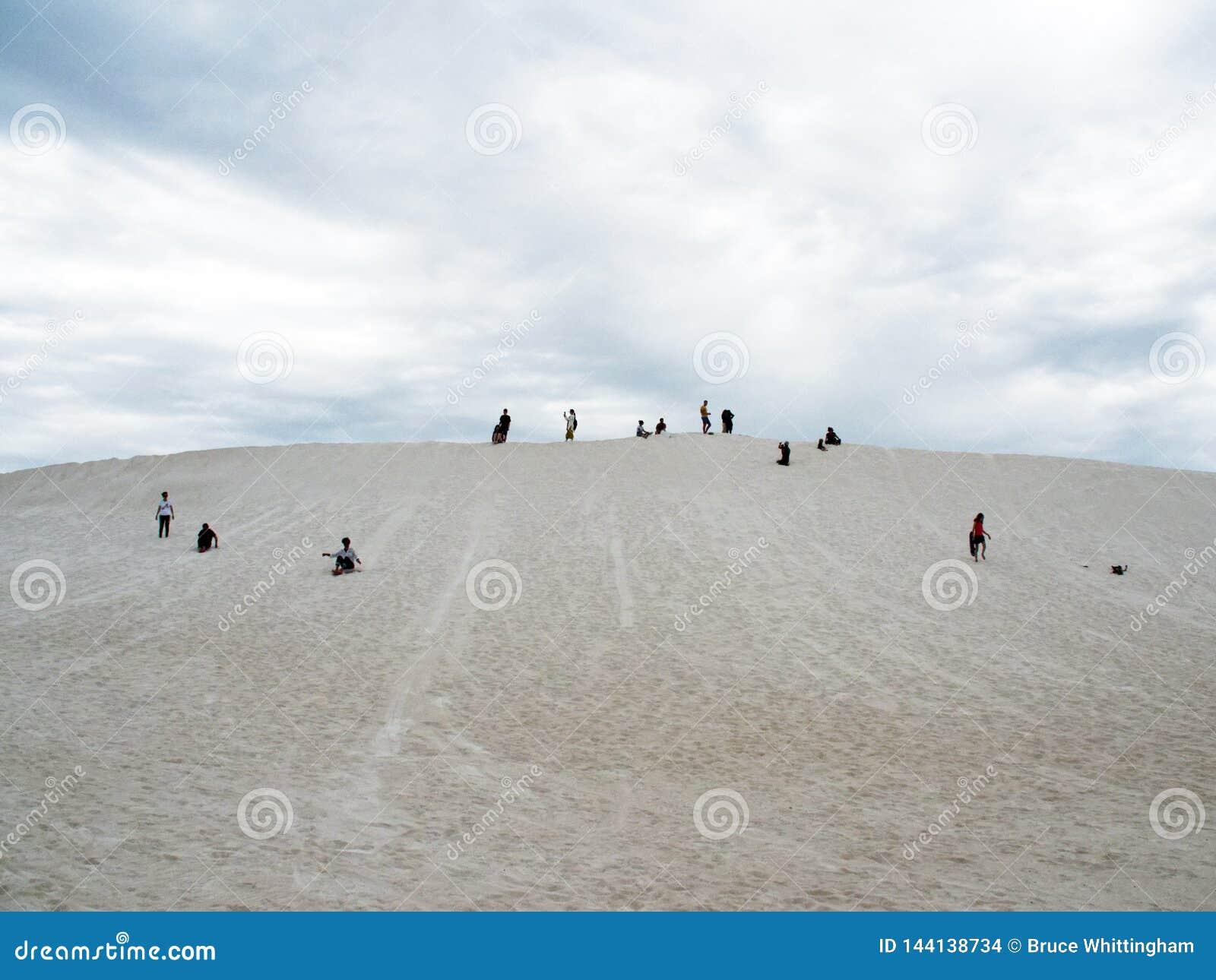Sand Dune Surfing Lancelin Western Australia Editorial