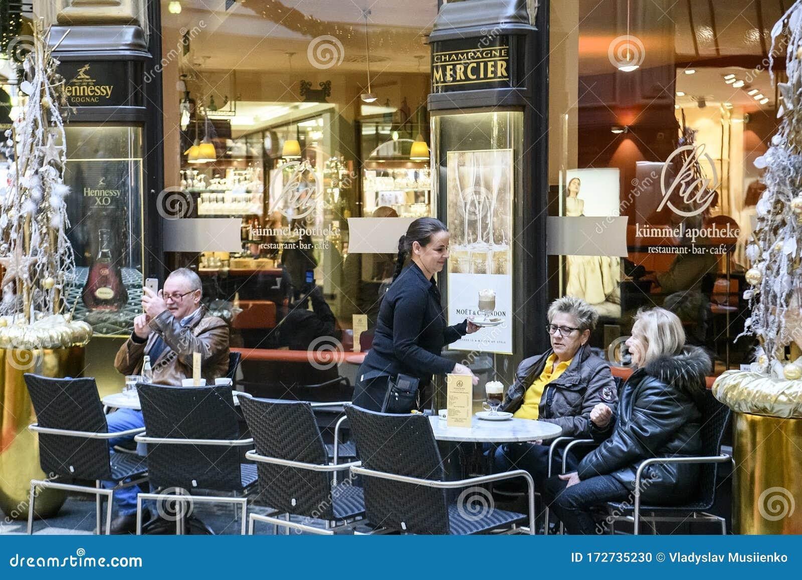Visitors To The Restaurant In Madlerpassage Leipzig Germany November 2019 Editorial Image Image Of Historical Deutschland 172735230