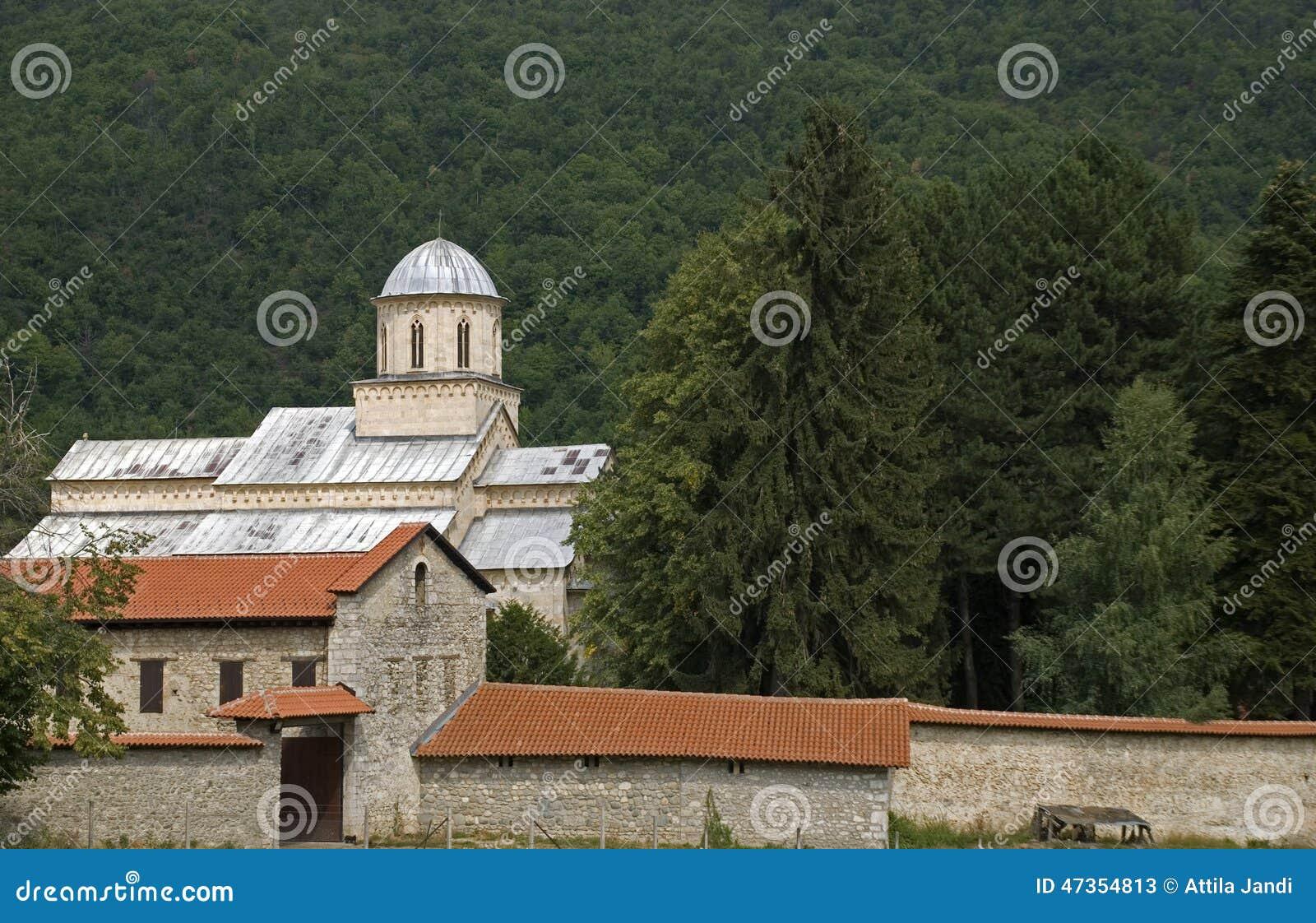 Visoki serbisk ortodox kloster, Decani, Kosovo