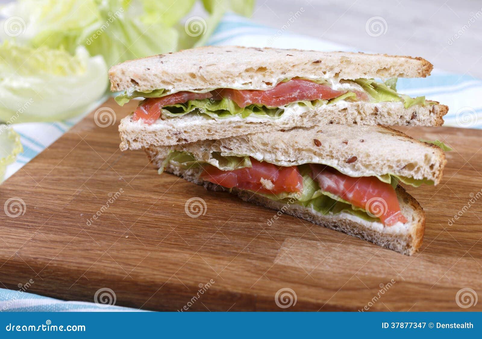 Vissensandwich