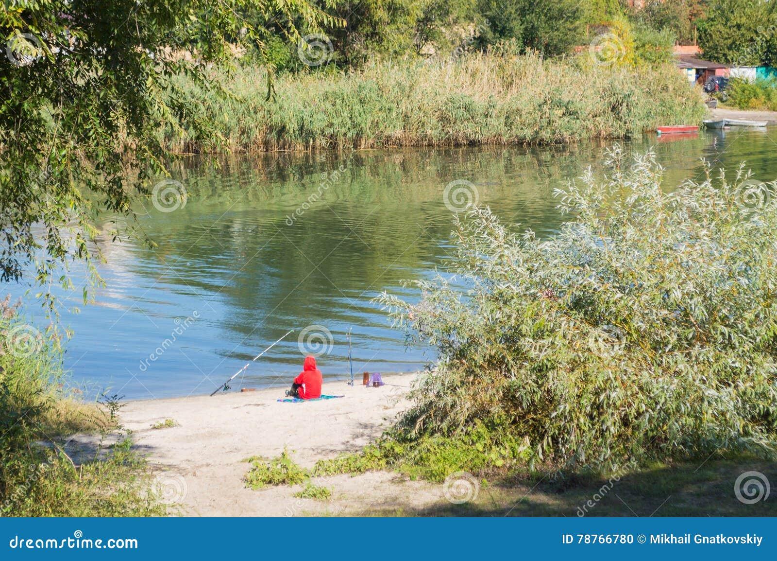 Visser plaatsing en visserij