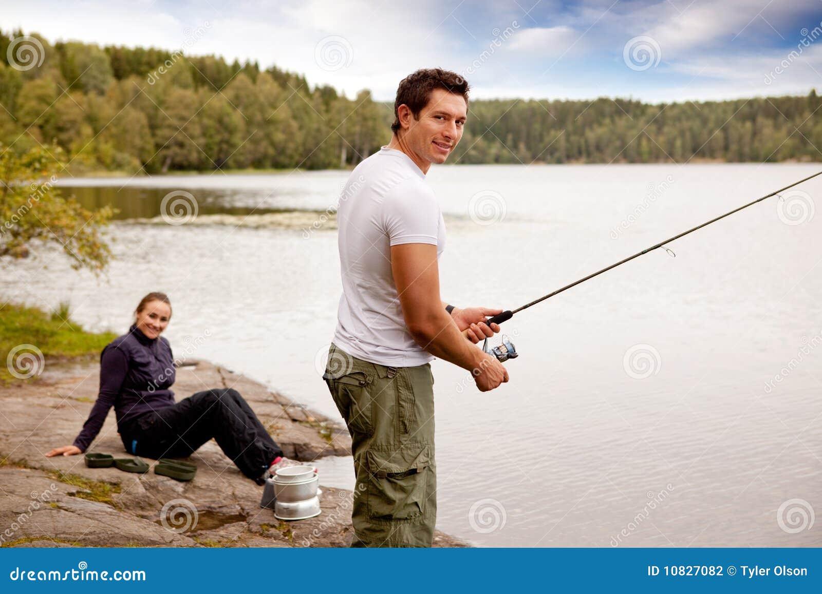 Visserij op het Kamperen Reis