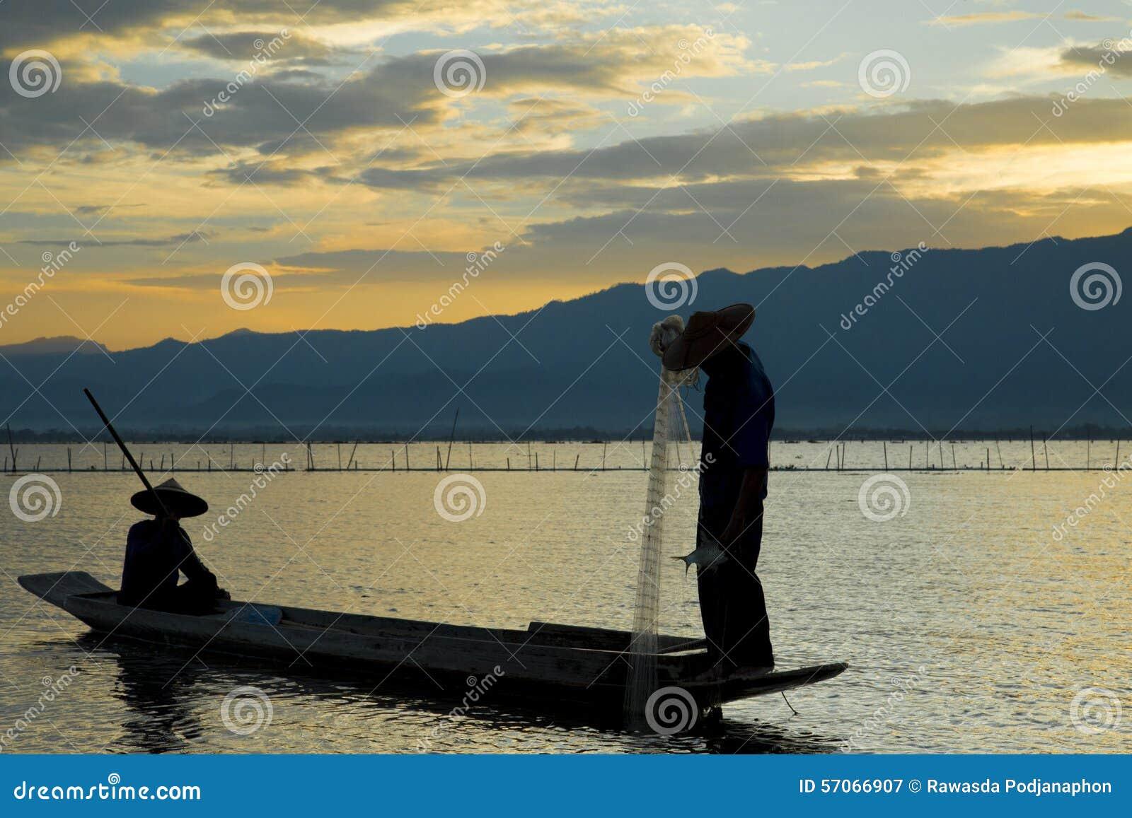 Vissers in meer
