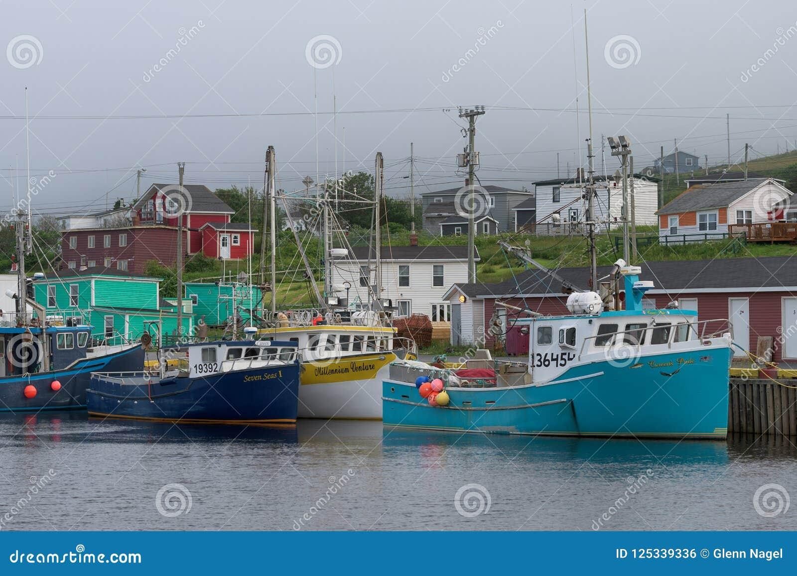 Vissersboten in Takhaven